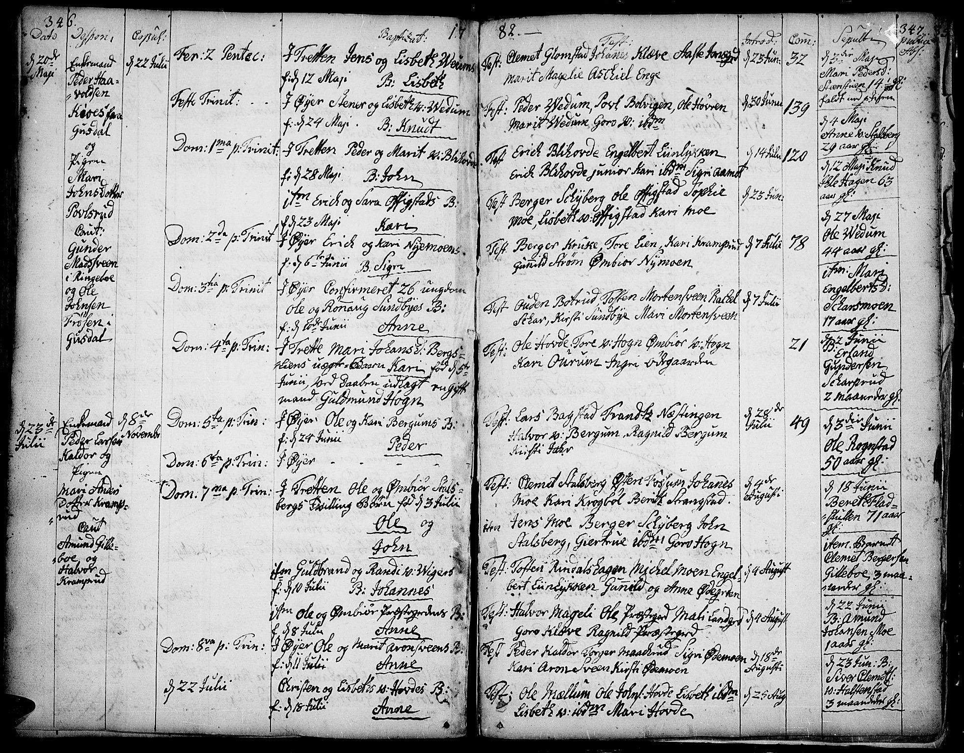 SAH, Øyer prestekontor, Ministerialbok nr. 2, 1733-1784, s. 346-347