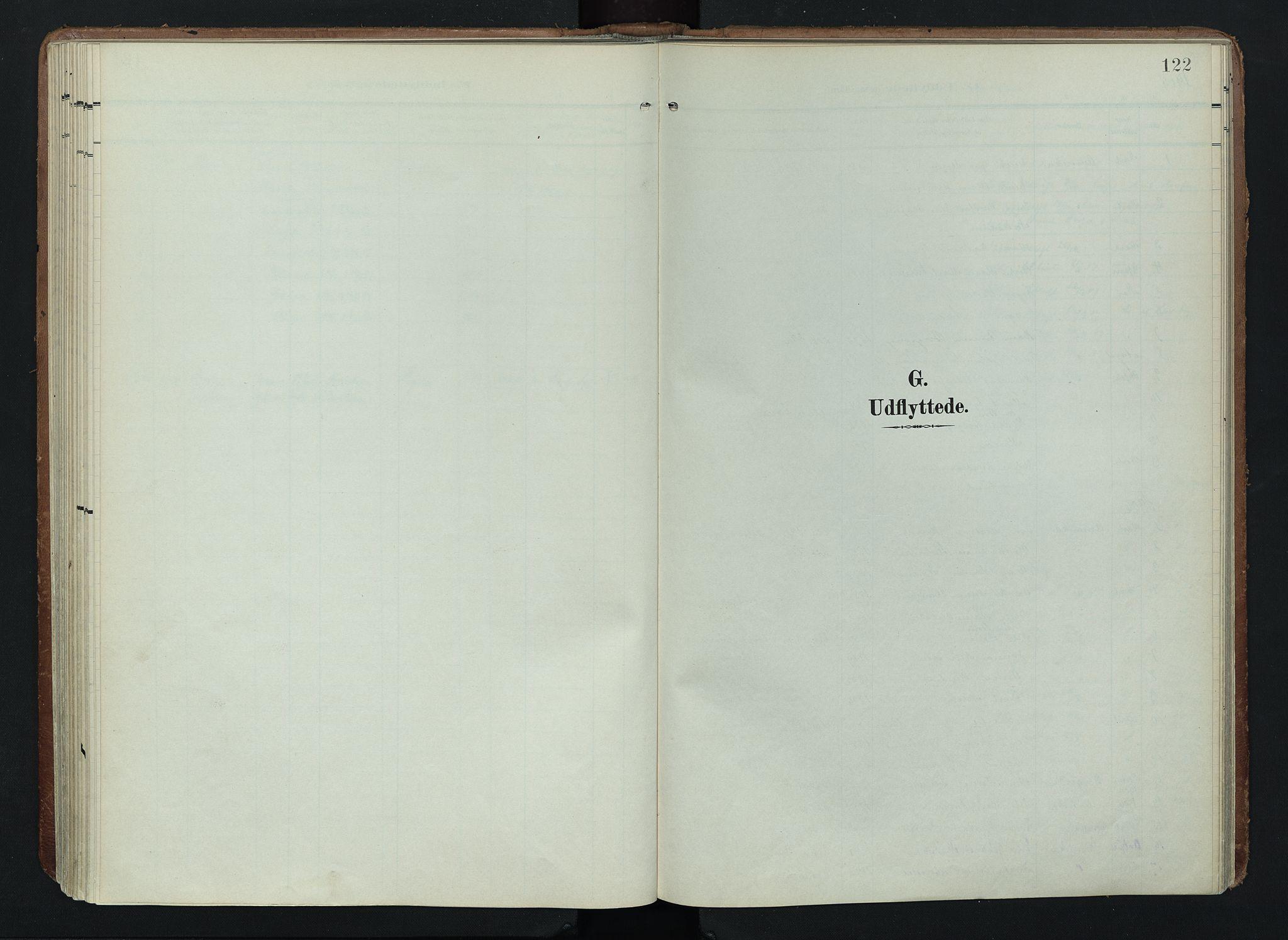 SAH, Søndre Land prestekontor, K/L0005: Ministerialbok nr. 5, 1905-1914, s. 122
