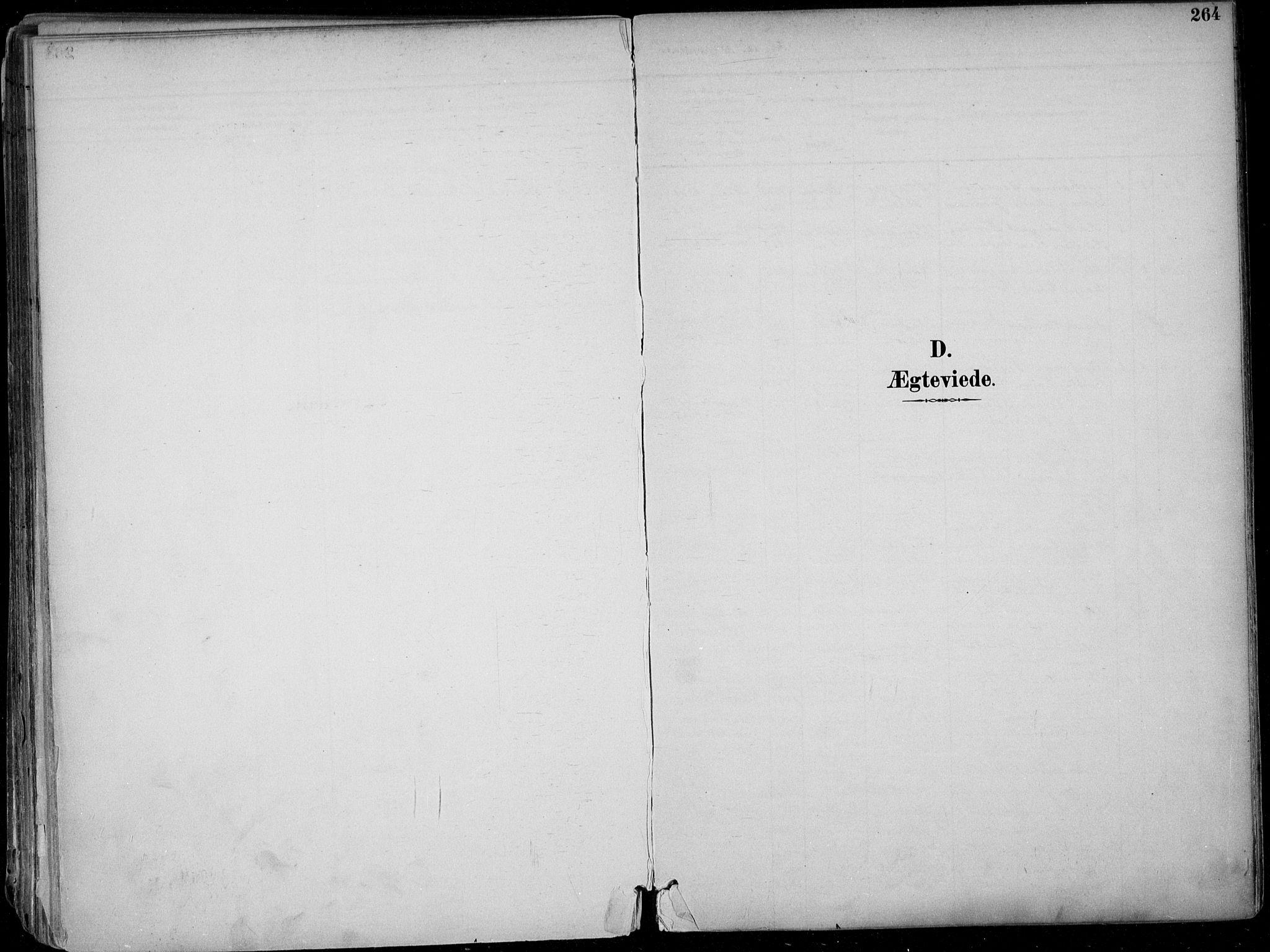 SAKO, Skien kirkebøker, F/Fa/L0010: Ministerialbok nr. 10, 1891-1899, s. 264