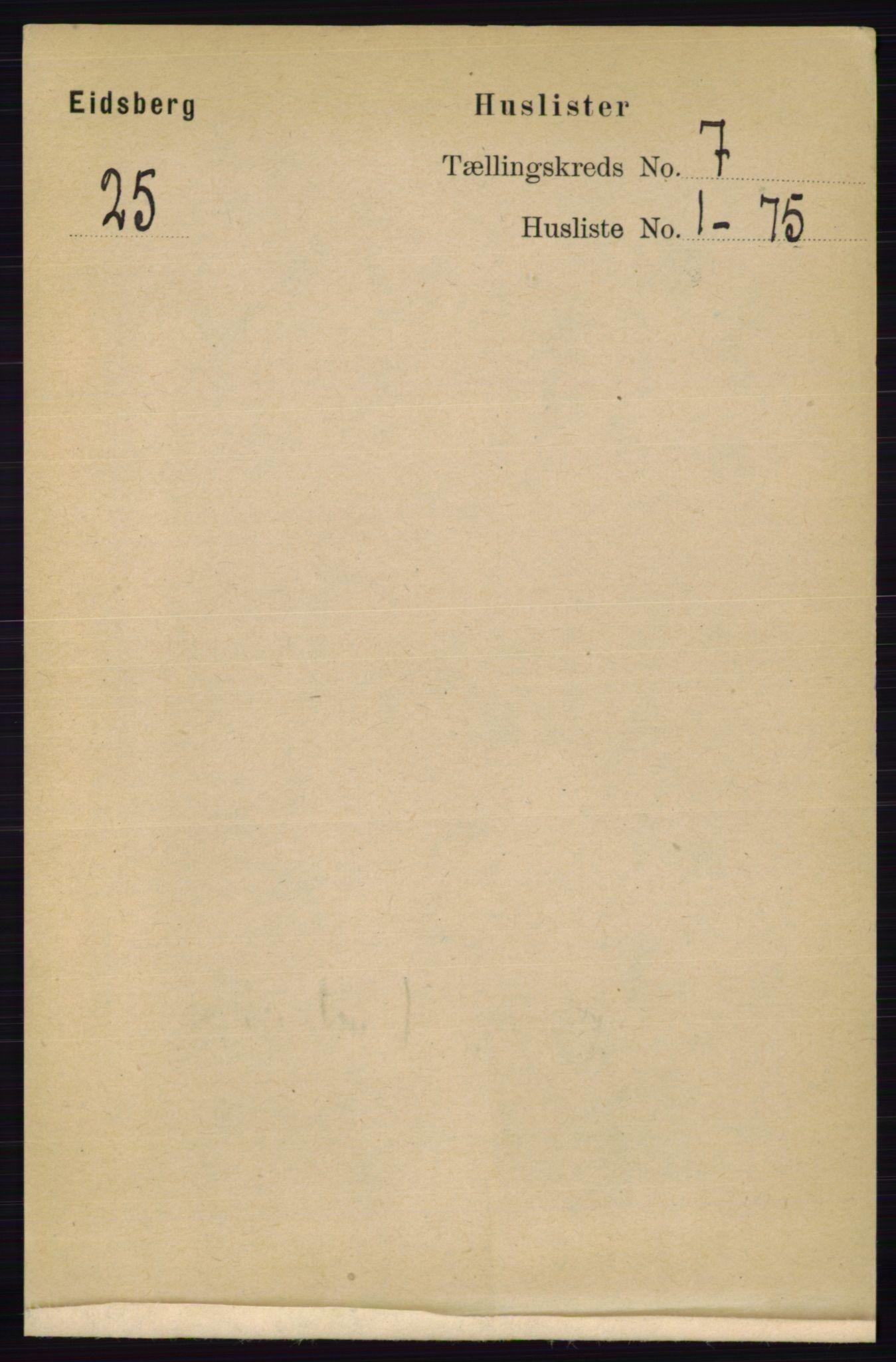 RA, Folketelling 1891 for 0125 Eidsberg herred, 1891, s. 4004