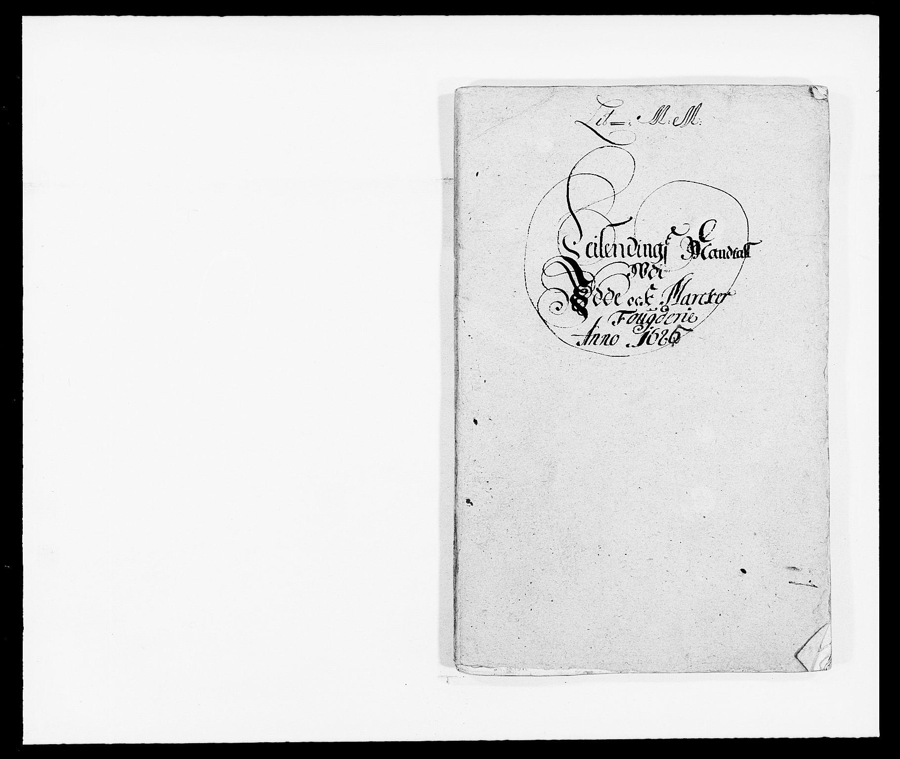 RA, Rentekammeret inntil 1814, Reviderte regnskaper, Fogderegnskap, R01/L0006: Fogderegnskap Idd og Marker, 1685-1686, s. 69