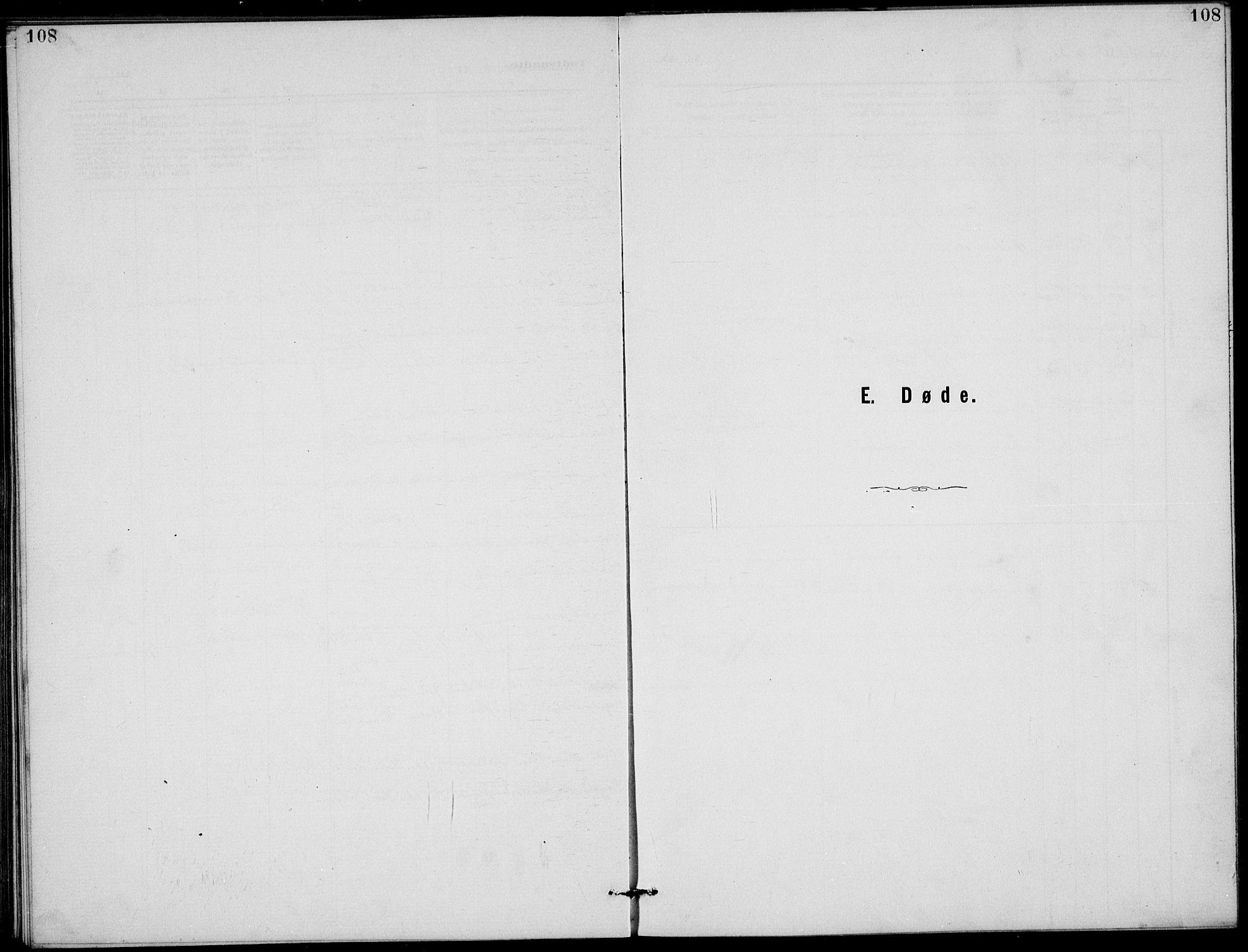 SAKO, Rjukan kirkebøker, G/Ga/L0001: Klokkerbok nr. 1, 1880-1914, s. 108