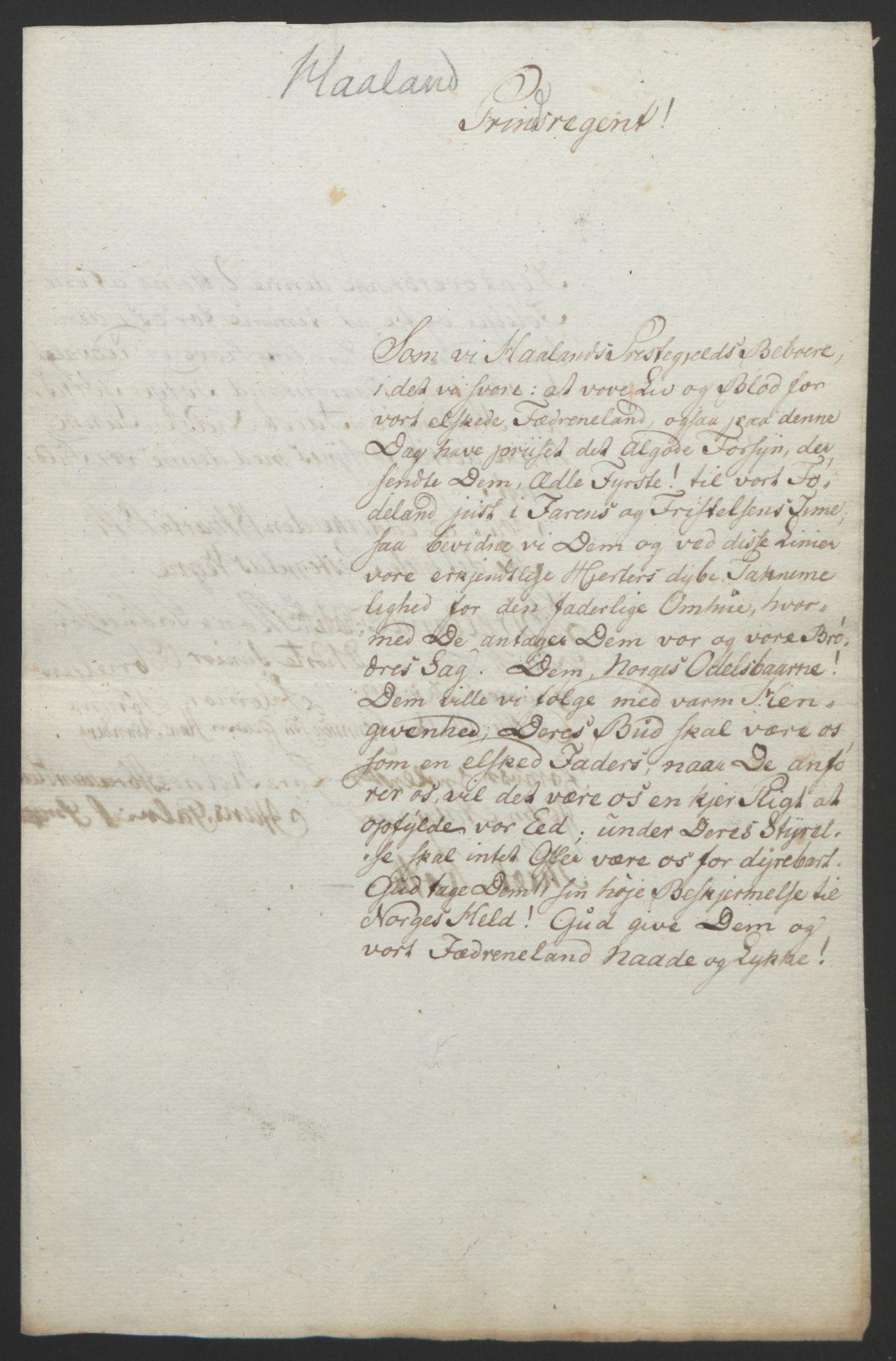 RA, Statsrådssekretariatet, D/Db/L0008: Fullmakter for Eidsvollsrepresentantene i 1814. , 1814, s. 219
