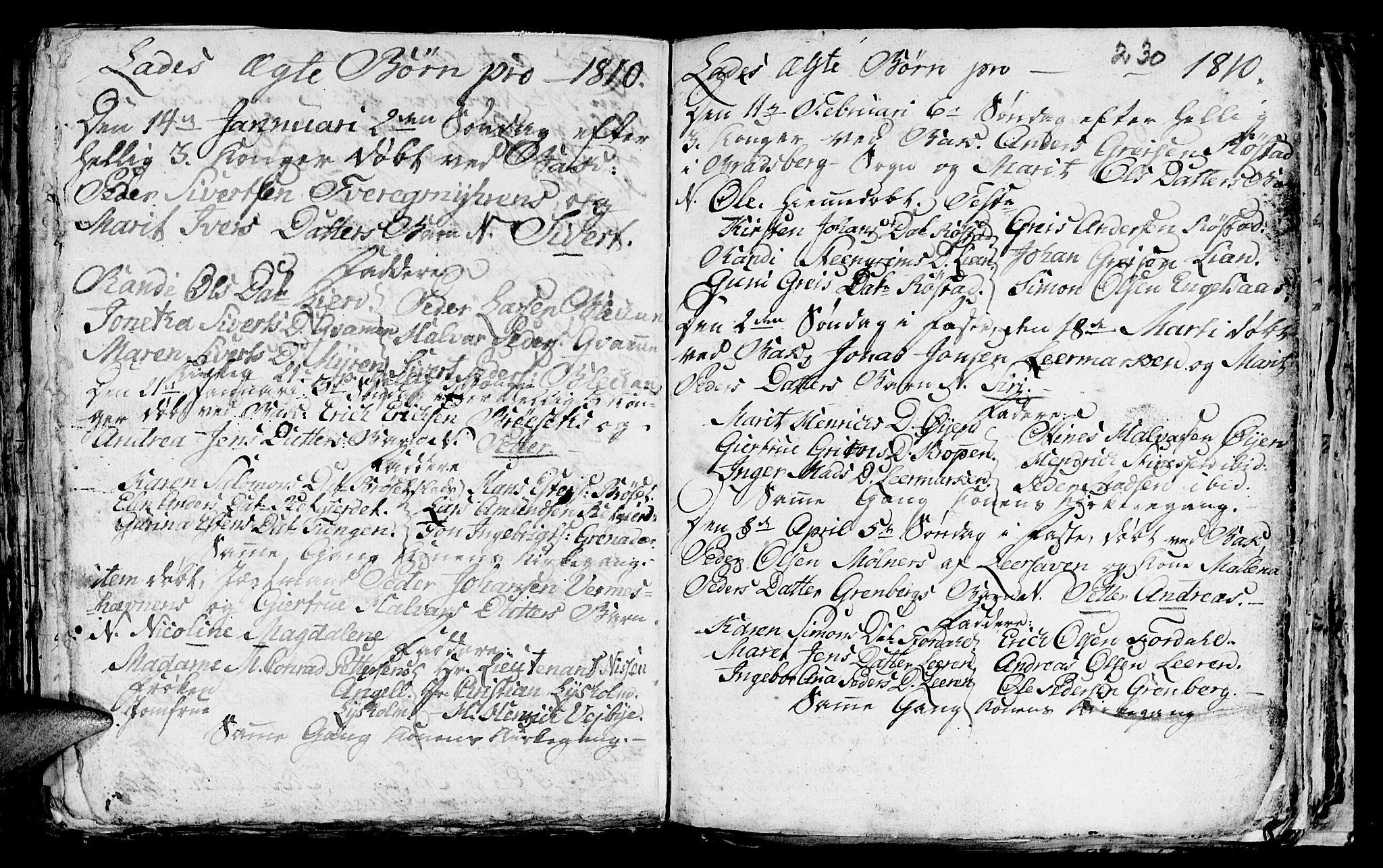 SAT, Ministerialprotokoller, klokkerbøker og fødselsregistre - Sør-Trøndelag, 606/L0305: Klokkerbok nr. 606C01, 1757-1819, s. 230