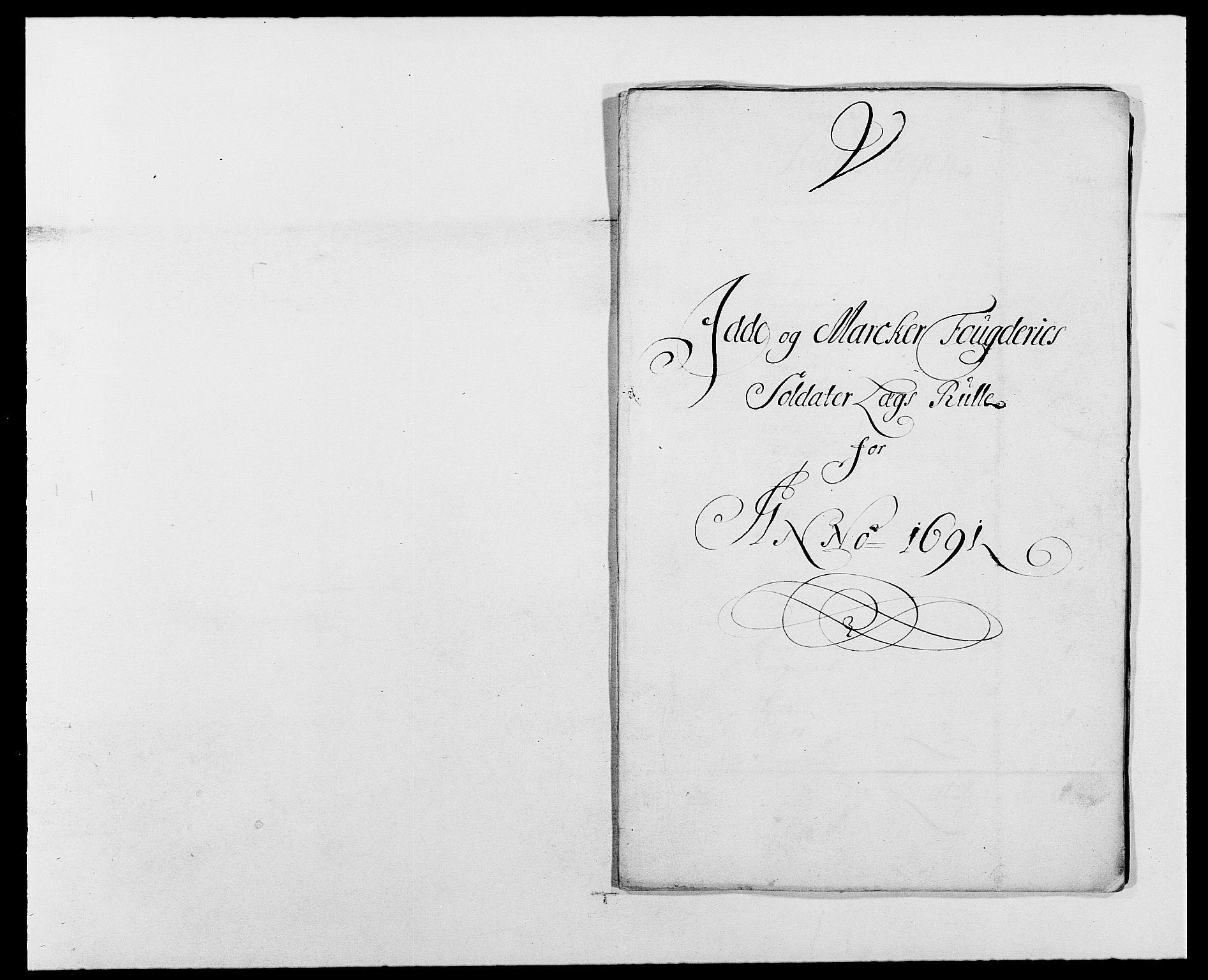 RA, Rentekammeret inntil 1814, Reviderte regnskaper, Fogderegnskap, R01/L0010: Fogderegnskap Idd og Marker, 1690-1691, s. 378