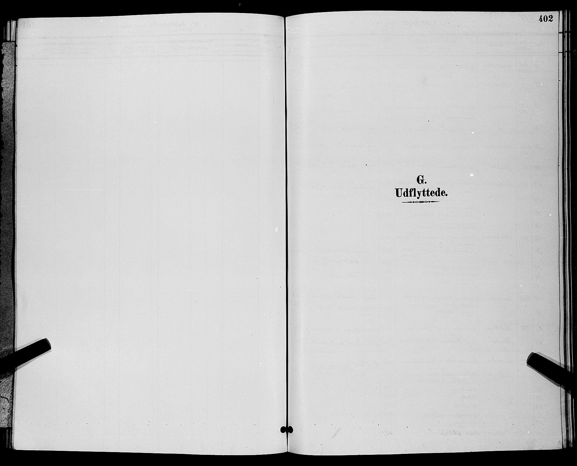 SAKO, Bamble kirkebøker, G/Ga/L0009: Klokkerbok nr. I 9, 1888-1900, s. 402