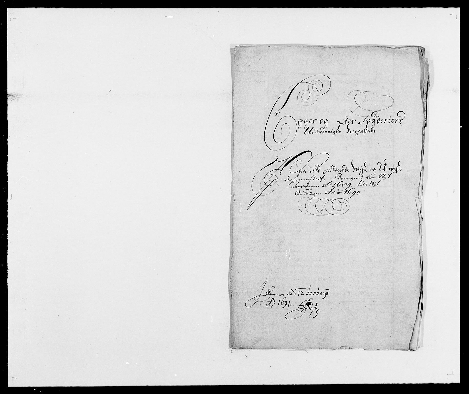 RA, Rentekammeret inntil 1814, Reviderte regnskaper, Fogderegnskap, R28/L1688: Fogderegnskap Eiker og Lier, 1687-1689, s. 334