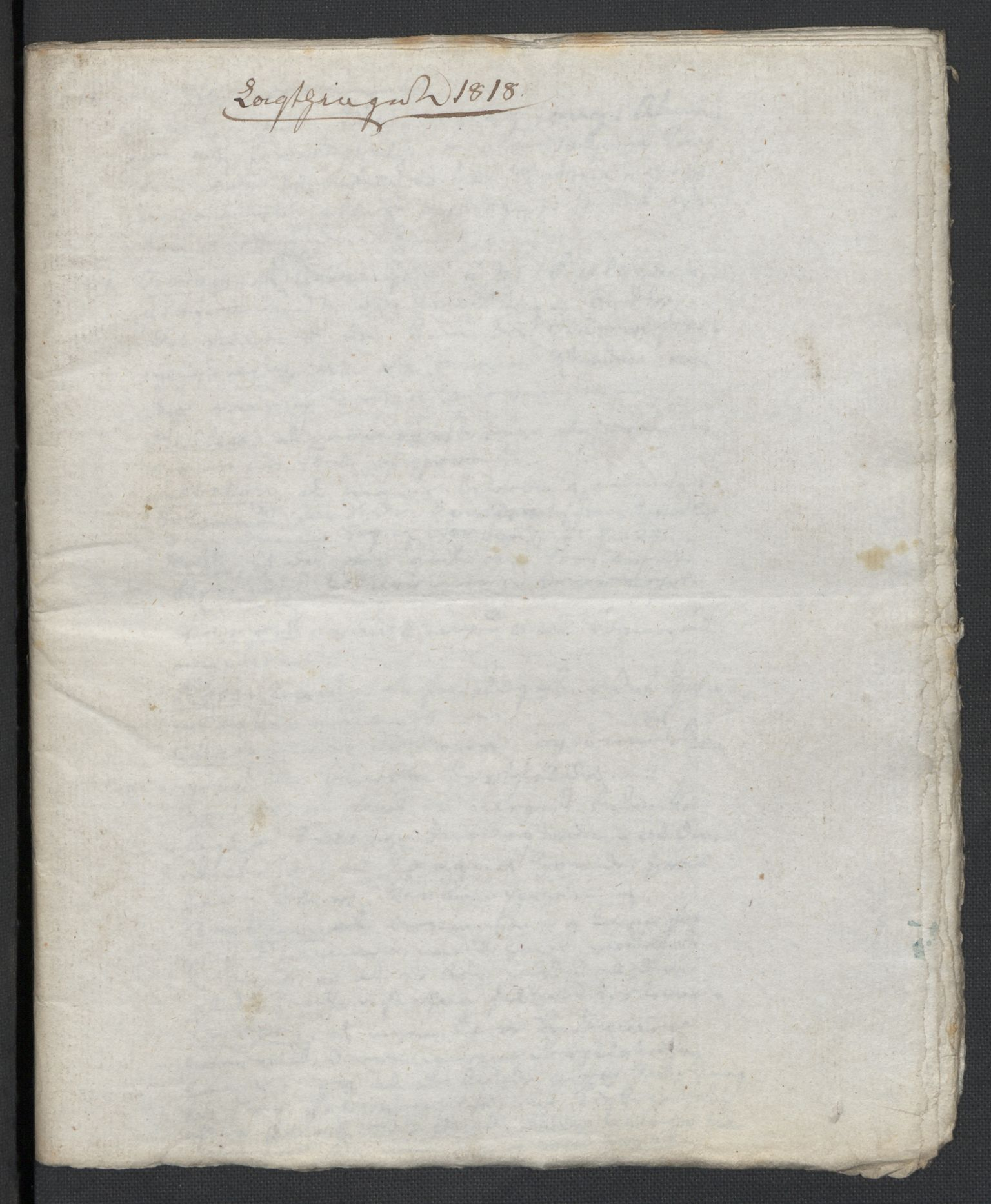 RA, Christie, Wilhelm Frimann Koren, F/L0006, 1817-1818, s. 174