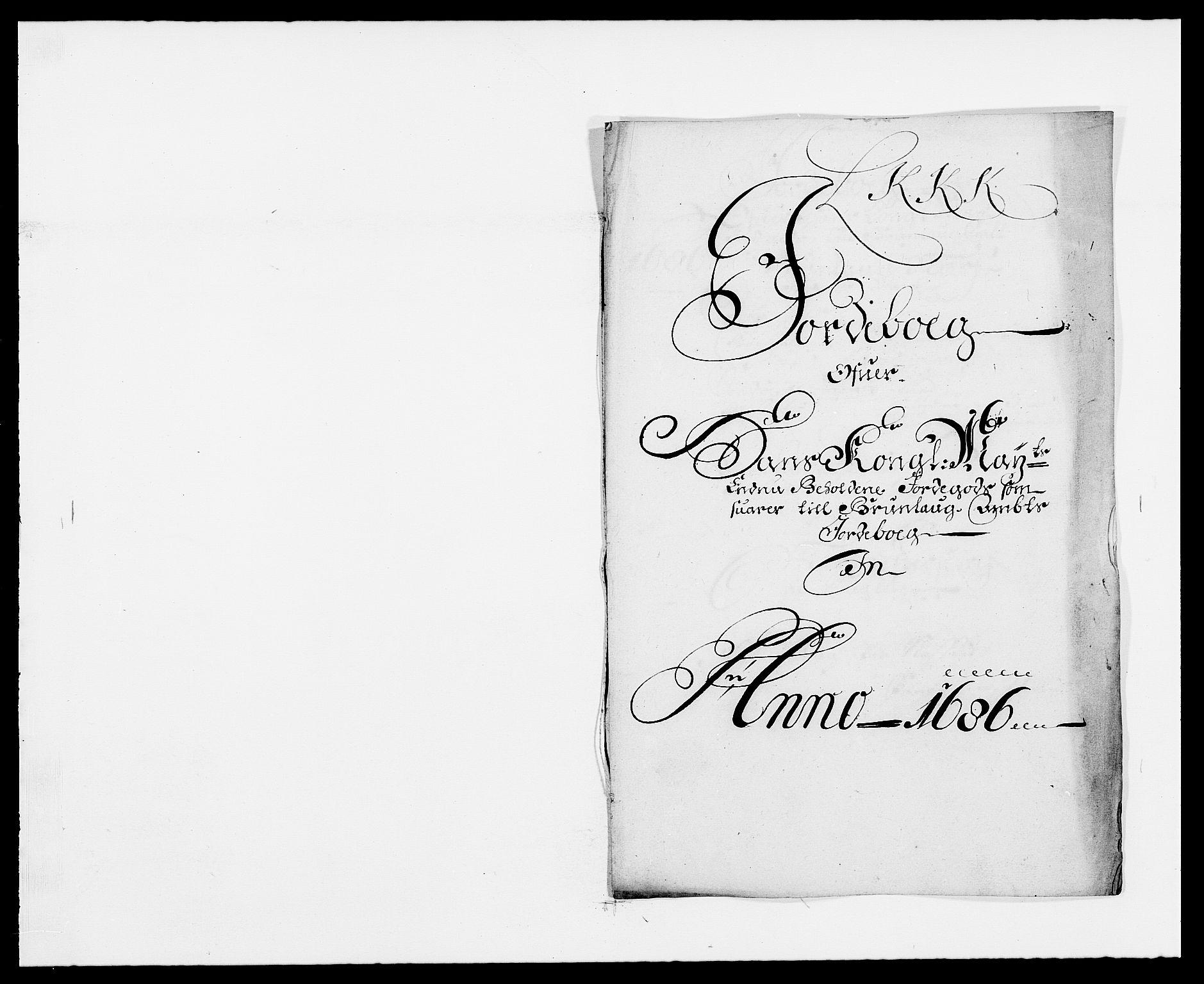 RA, Rentekammeret inntil 1814, Reviderte regnskaper, Fogderegnskap, R33/L1970: Fogderegnskap Larvik grevskap, 1675-1687, s. 134
