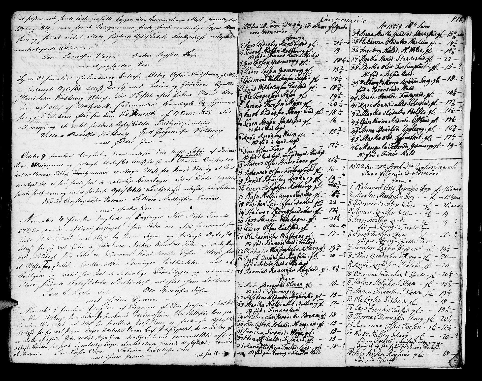 SAST, Avaldsnes sokneprestkontor, H/Ha/Haa/L0003: Ministerialbok nr. A 3, 1801-1817, s. 178