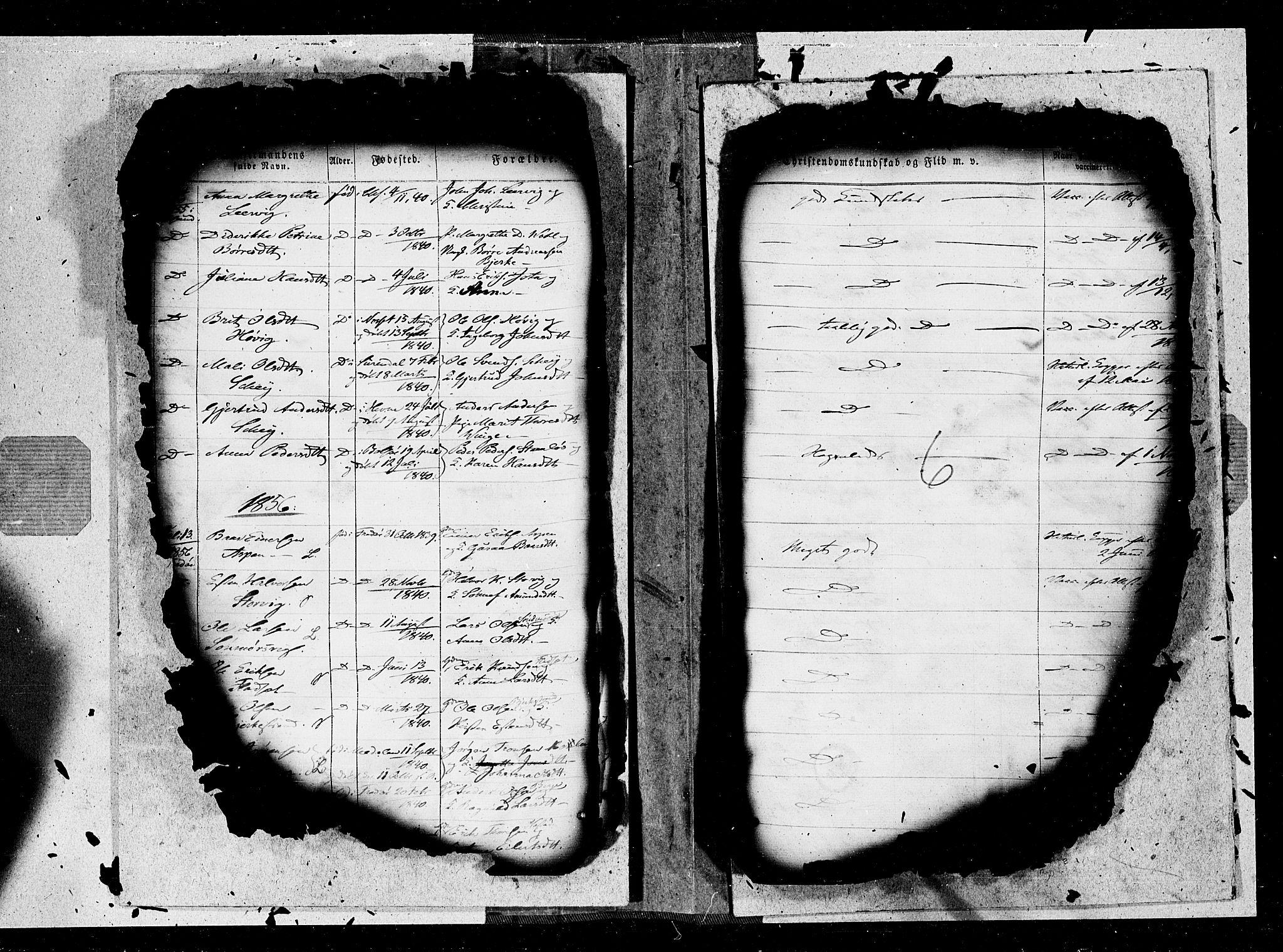 SAT, Ministerialprotokoller, klokkerbøker og fødselsregistre - Møre og Romsdal, 572/L0846: Ministerialbok nr. 572A09, 1855-1865, s. 6