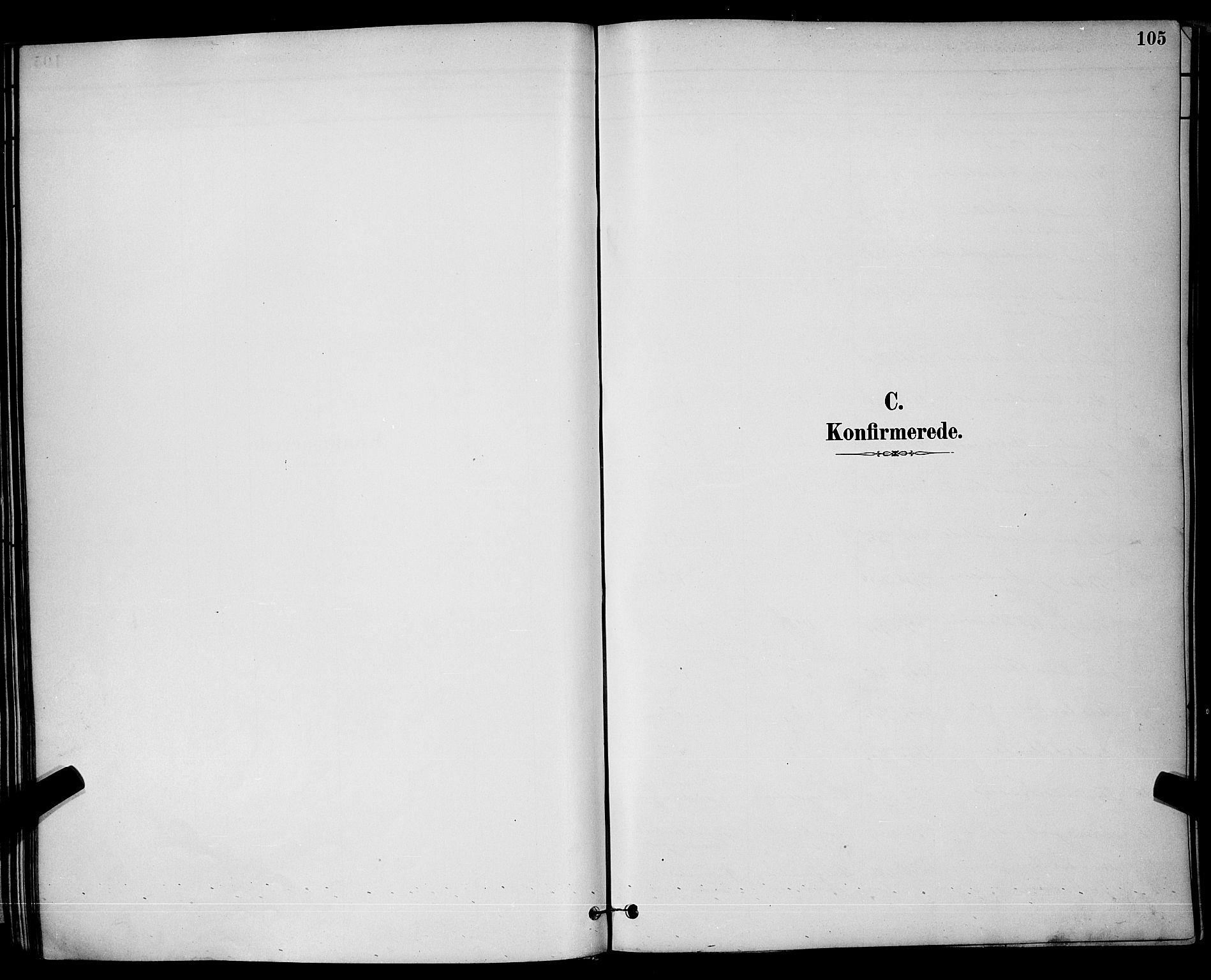 SAKO, Brevik kirkebøker, G/Ga/L0004: Klokkerbok nr. 4, 1882-1900, s. 105
