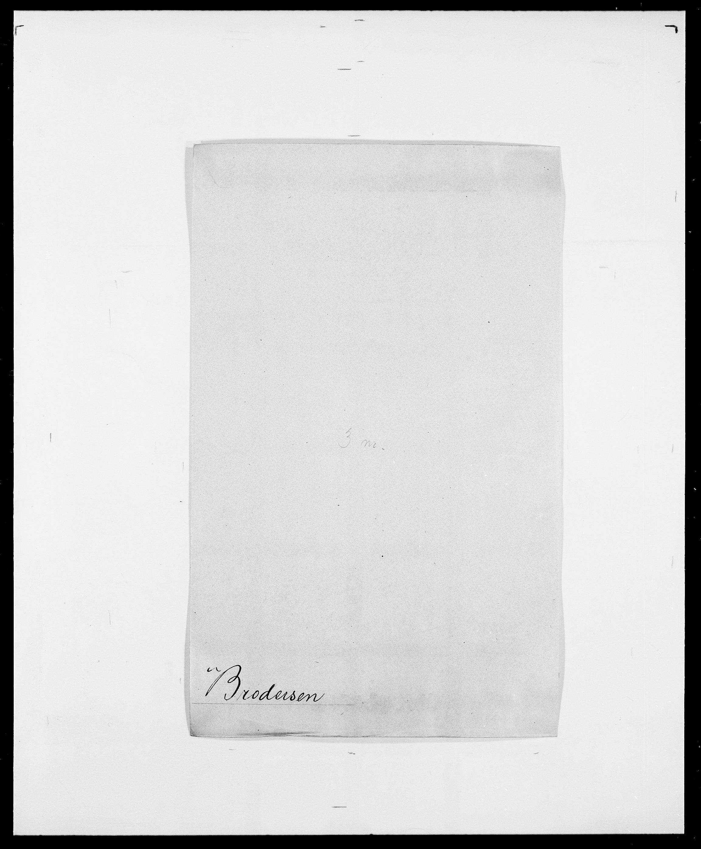 SAO, Delgobe, Charles Antoine - samling, D/Da/L0006: Brambani - Brønø, s. 498
