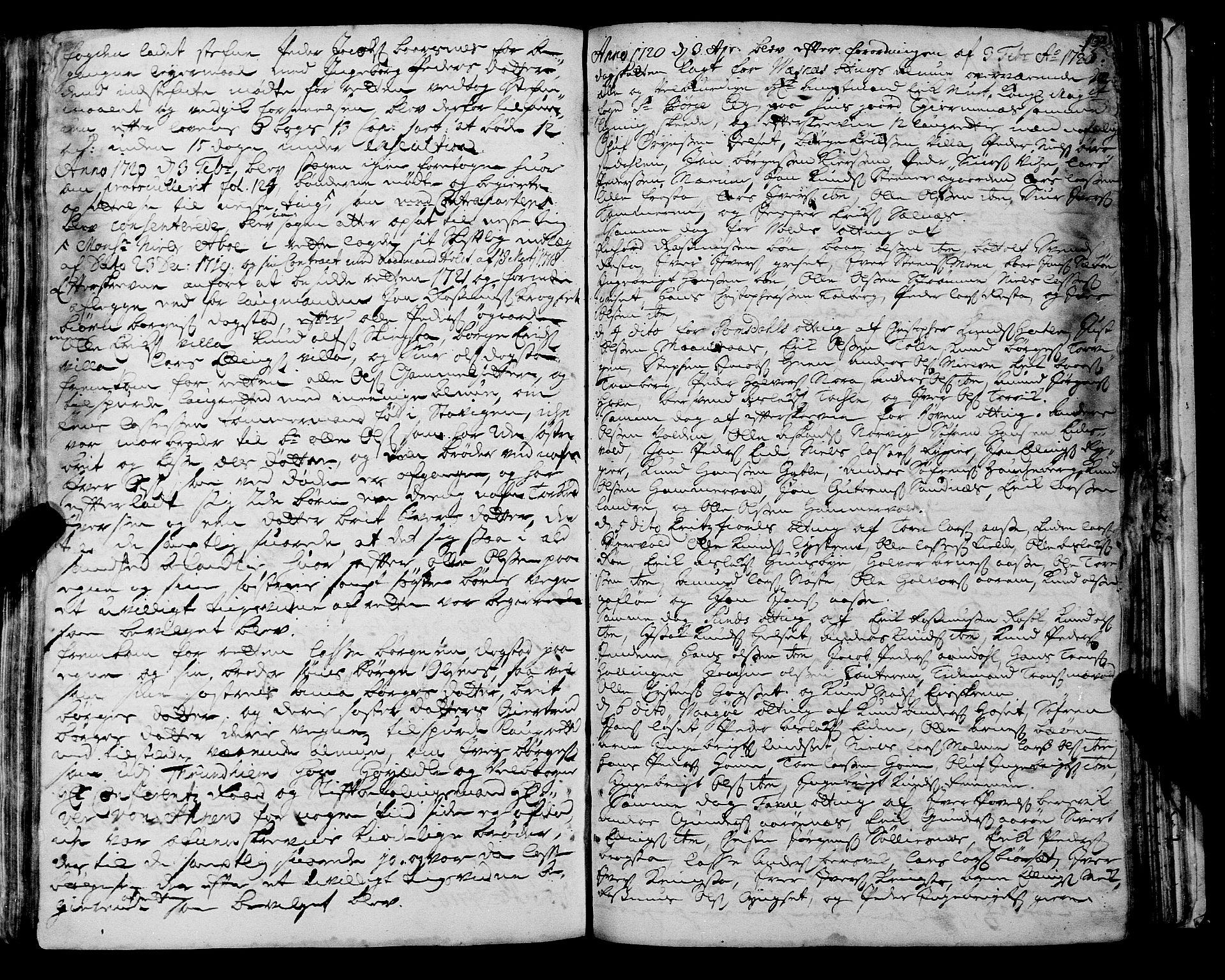 SAT, Romsdal sorenskriveri, 1/1A/L0008: Tingbok, 1714-1721, s. 131b-132a