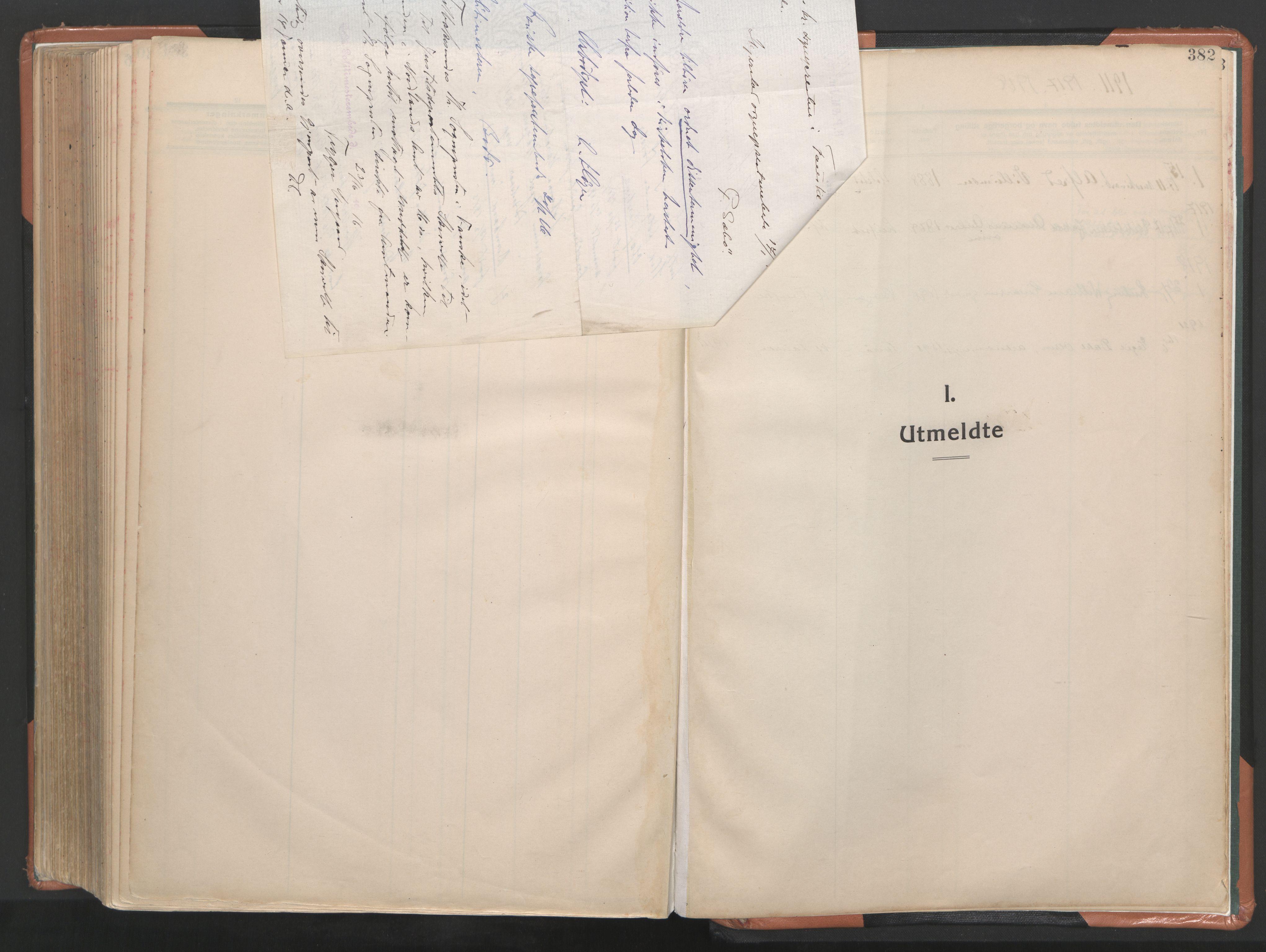 SAT, Ministerialprotokoller, klokkerbøker og fødselsregistre - Nordland, 849/L0698: Ministerialbok nr. 849A09, 1911-1924, s. 382