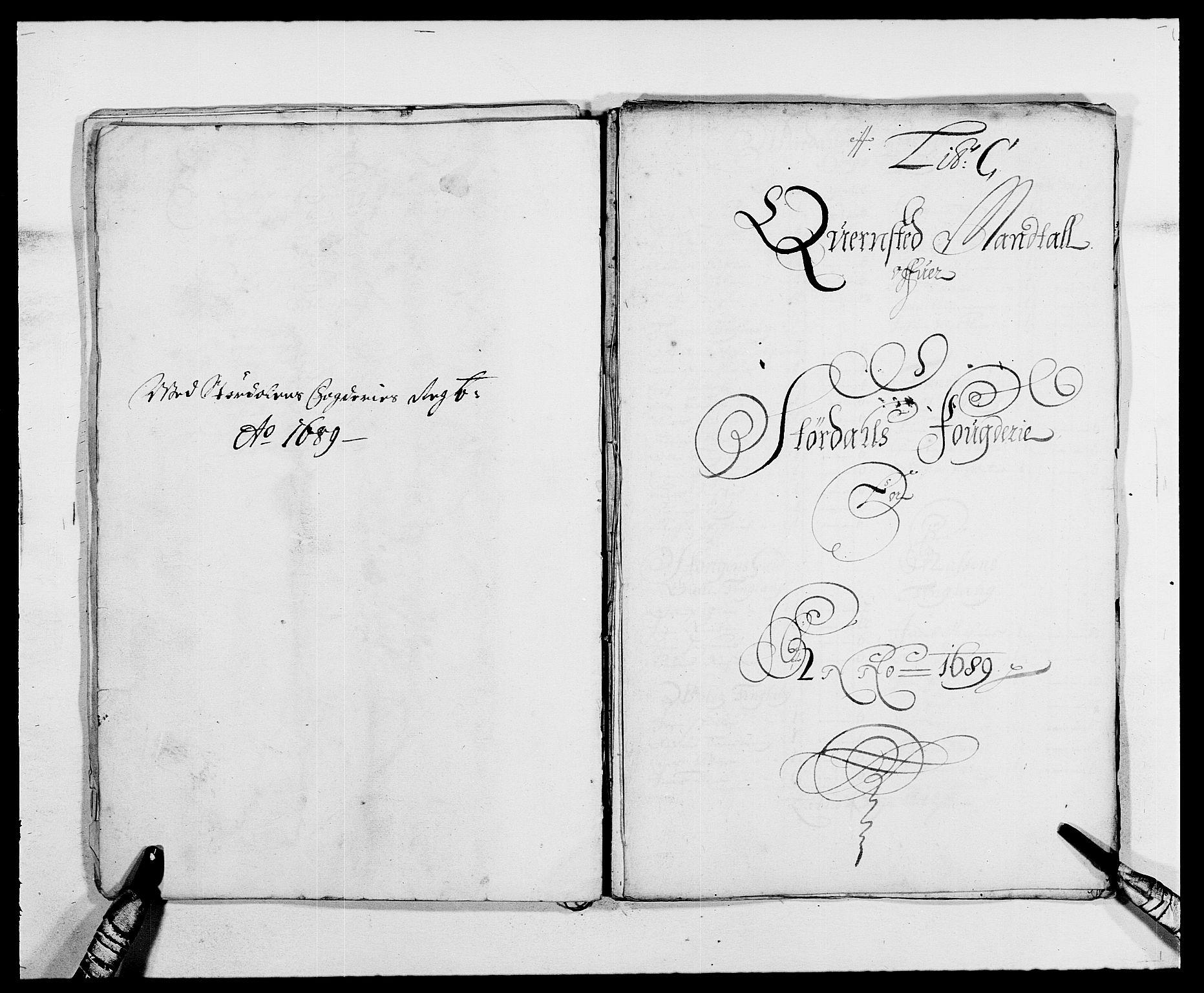 RA, Rentekammeret inntil 1814, Reviderte regnskaper, Fogderegnskap, R62/L4183: Fogderegnskap Stjørdal og Verdal, 1687-1689, s. 323