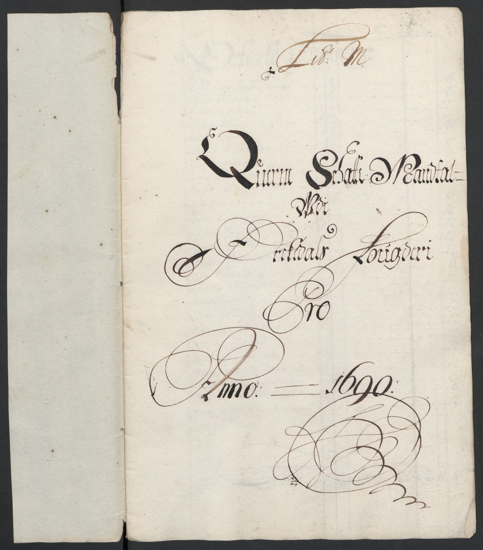 RA, Rentekammeret inntil 1814, Reviderte regnskaper, Fogderegnskap, R58/L3936: Fogderegnskap Orkdal, 1689-1690, s. 414