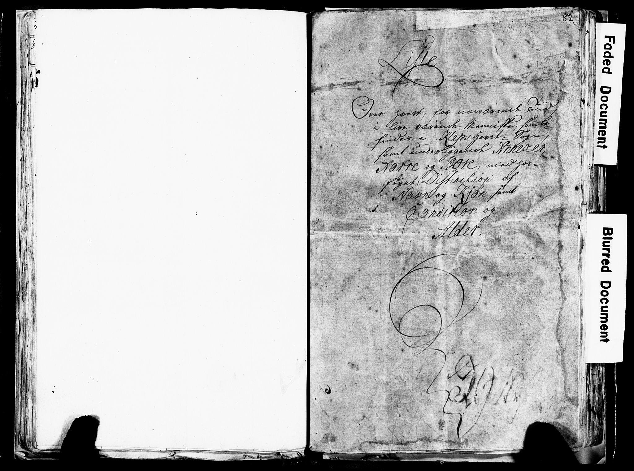 SAST, Fylkesmannen i Rogaland, 3/325/325CA/L0017: SJELEREGISTER JÆREN OG DALANE PRESTEGJELD, 1758, s. 82
