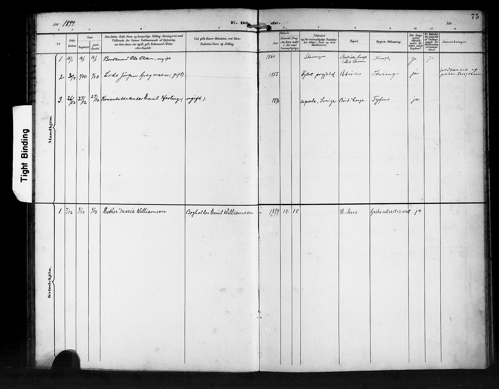 SAB, Den Norske Sjømannsmisjon i utlandet*, Ministerialbok nr. A 2, 1899-1919, s. 75