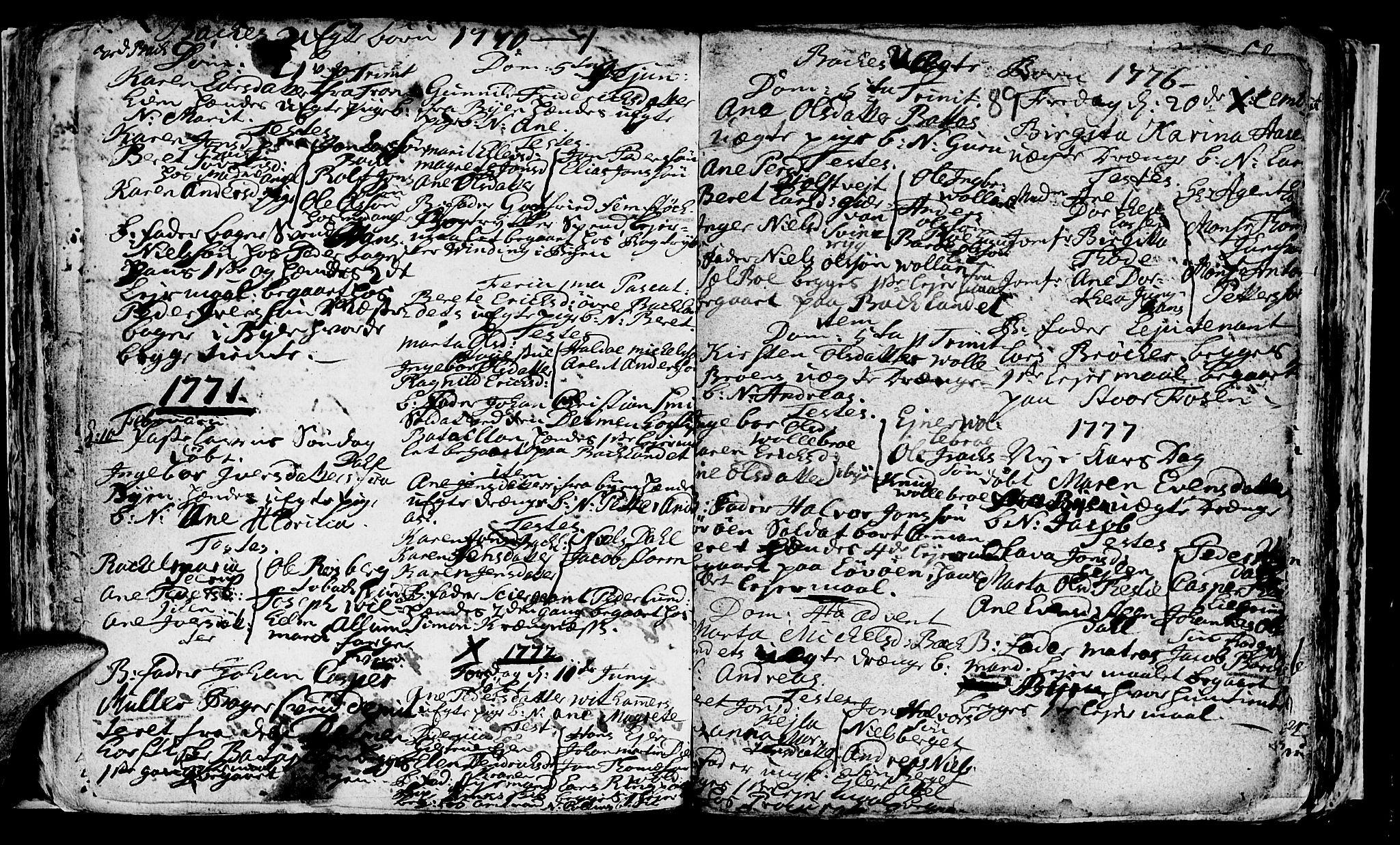 SAT, Ministerialprotokoller, klokkerbøker og fødselsregistre - Sør-Trøndelag, 604/L0218: Klokkerbok nr. 604C01, 1754-1819, s. 89