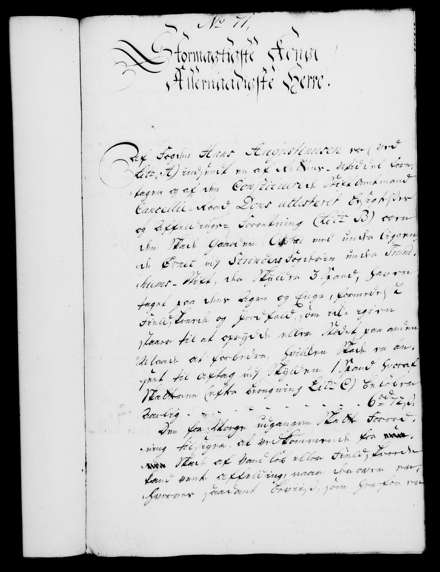 RA, Rentekammeret, Kammerkanselliet, G/Gf/Gfa/L0029: Norsk relasjons- og resolusjonsprotokoll (merket RK 52.29), 1746-1747, s. 557