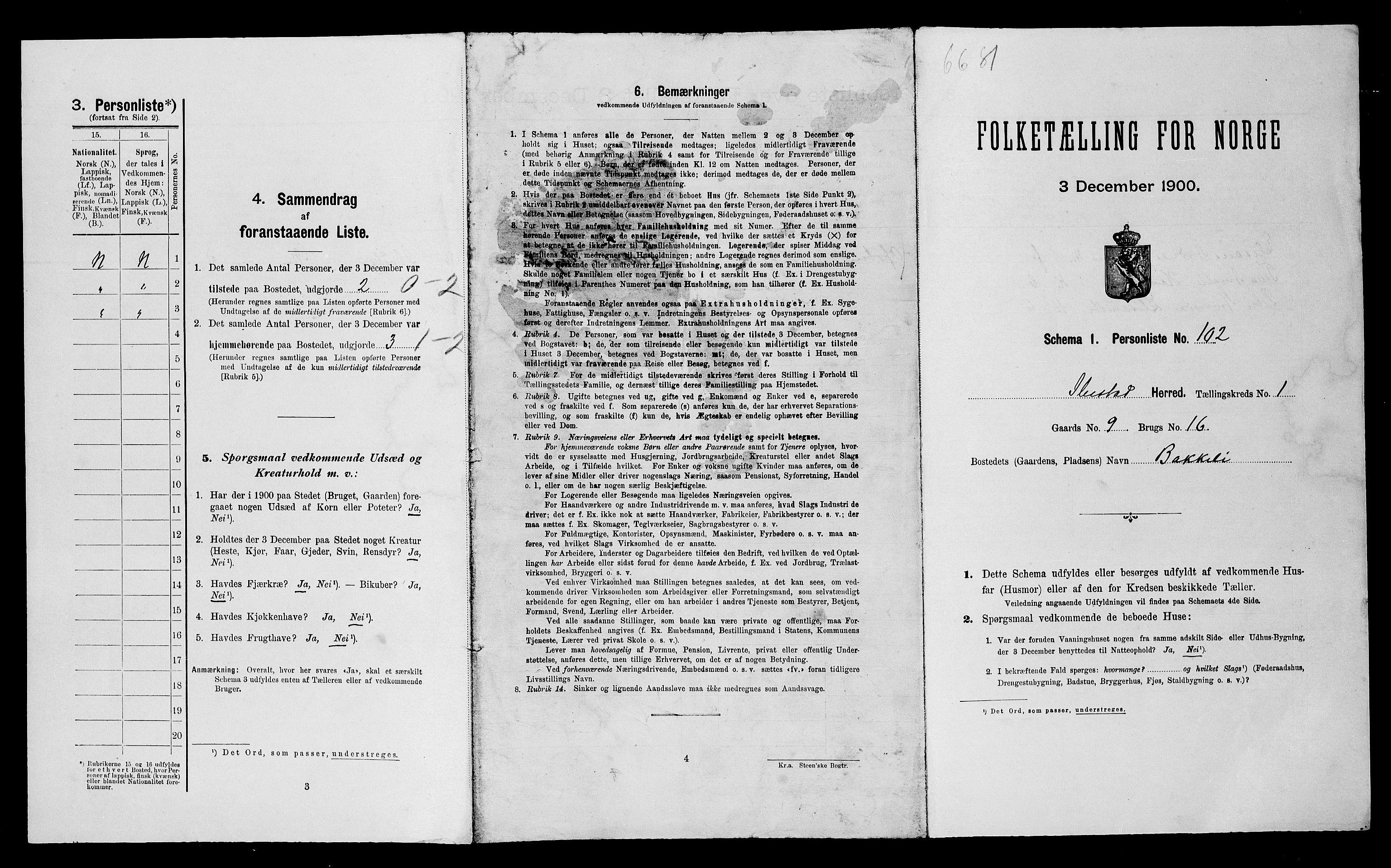 SATØ, Folketelling 1900 for 1917 Ibestad herred, 1900, s. 353
