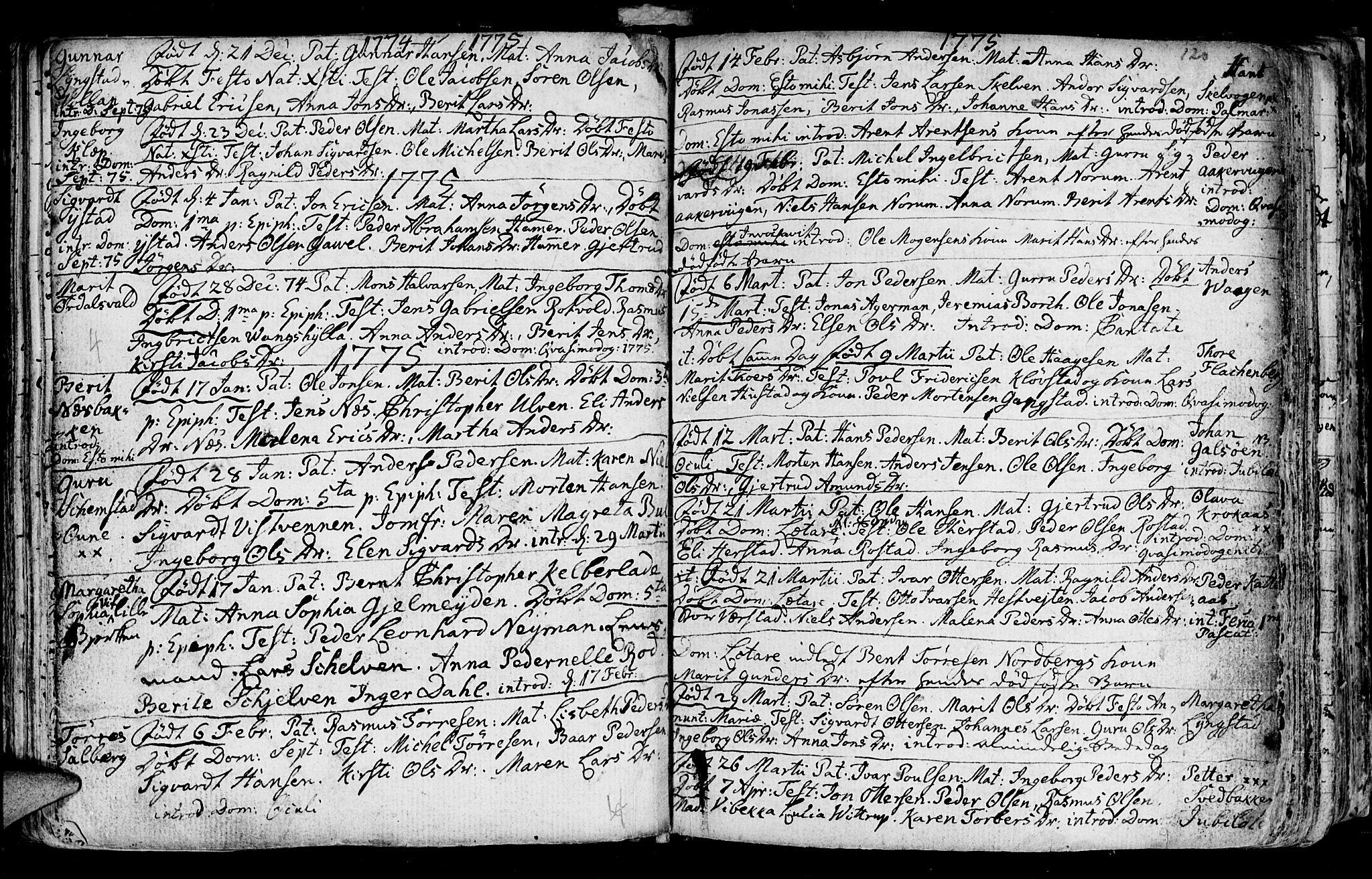 SAT, Ministerialprotokoller, klokkerbøker og fødselsregistre - Nord-Trøndelag, 730/L0273: Ministerialbok nr. 730A02, 1762-1802, s. 120