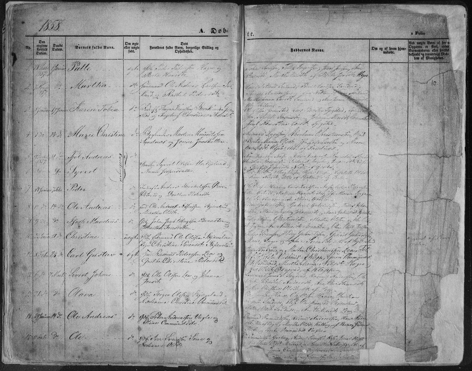 SAST, Høyland sokneprestkontor, 30BA/L0010: Ministerialbok nr. A 9.1, 1857-1877, s. 10