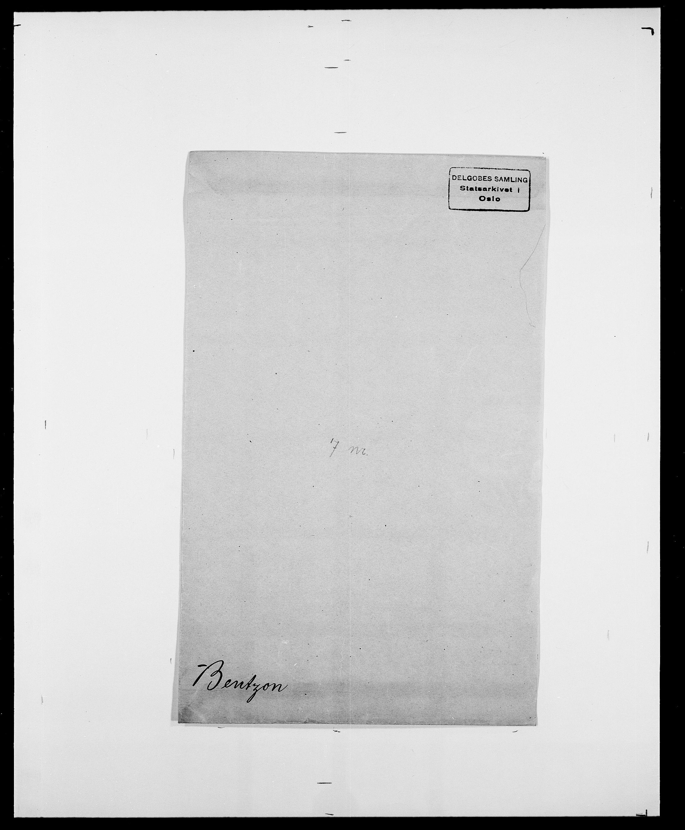 SAO, Delgobe, Charles Antoine - samling, D/Da/L0003: Barca - Bergen, s. 843