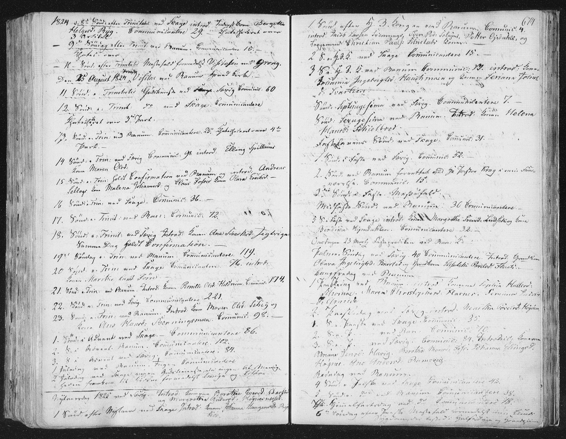 SAT, Ministerialprotokoller, klokkerbøker og fødselsregistre - Nord-Trøndelag, 764/L0552: Ministerialbok nr. 764A07b, 1824-1865, s. 674