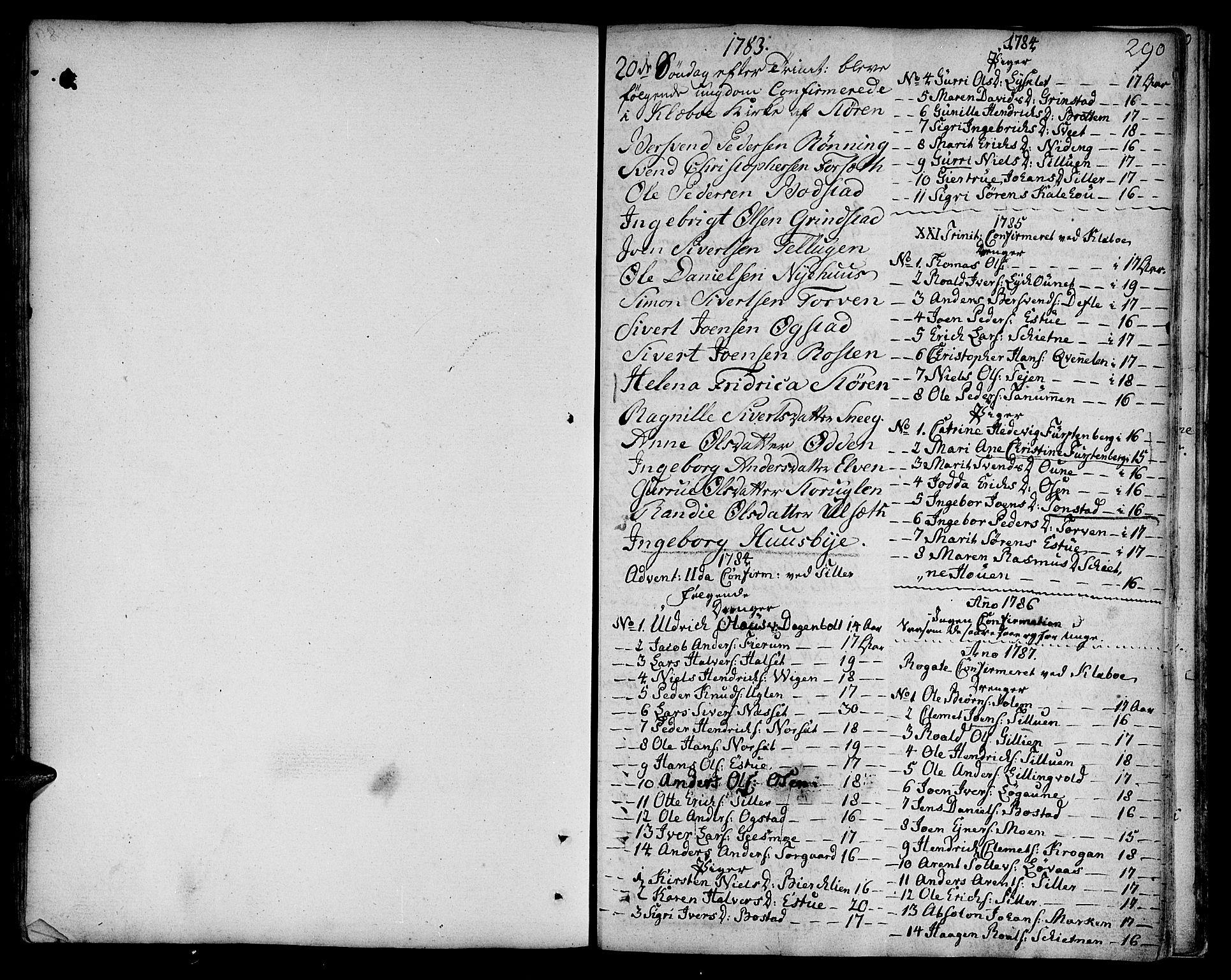 SAT, Ministerialprotokoller, klokkerbøker og fødselsregistre - Sør-Trøndelag, 618/L0438: Ministerialbok nr. 618A03, 1783-1815, s. 290