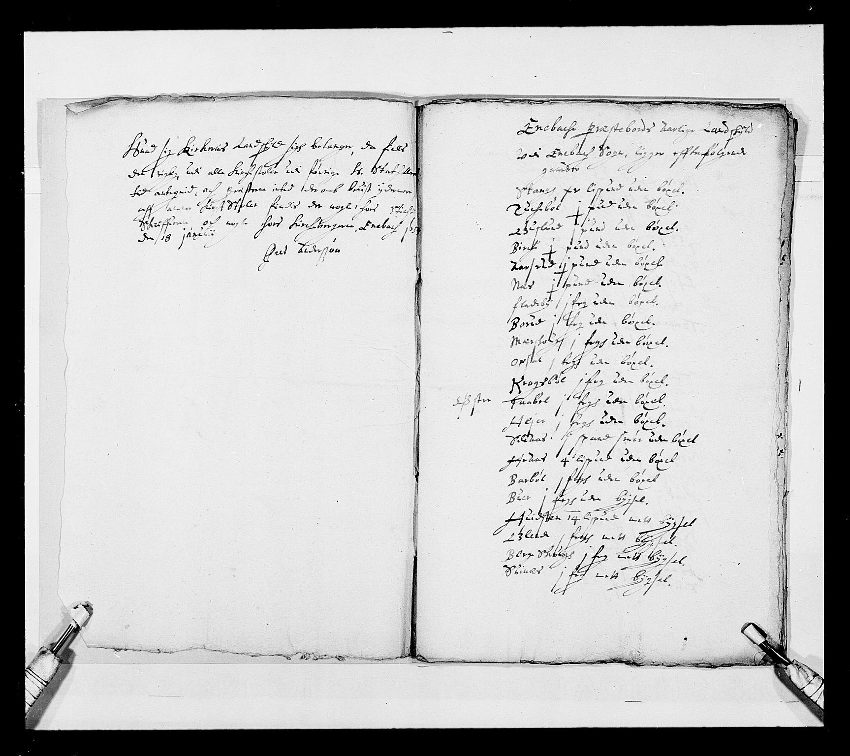 RA, Stattholderembetet 1572-1771, Ek/L0030: Jordebøker 1633-1658:, 1654, s. 200
