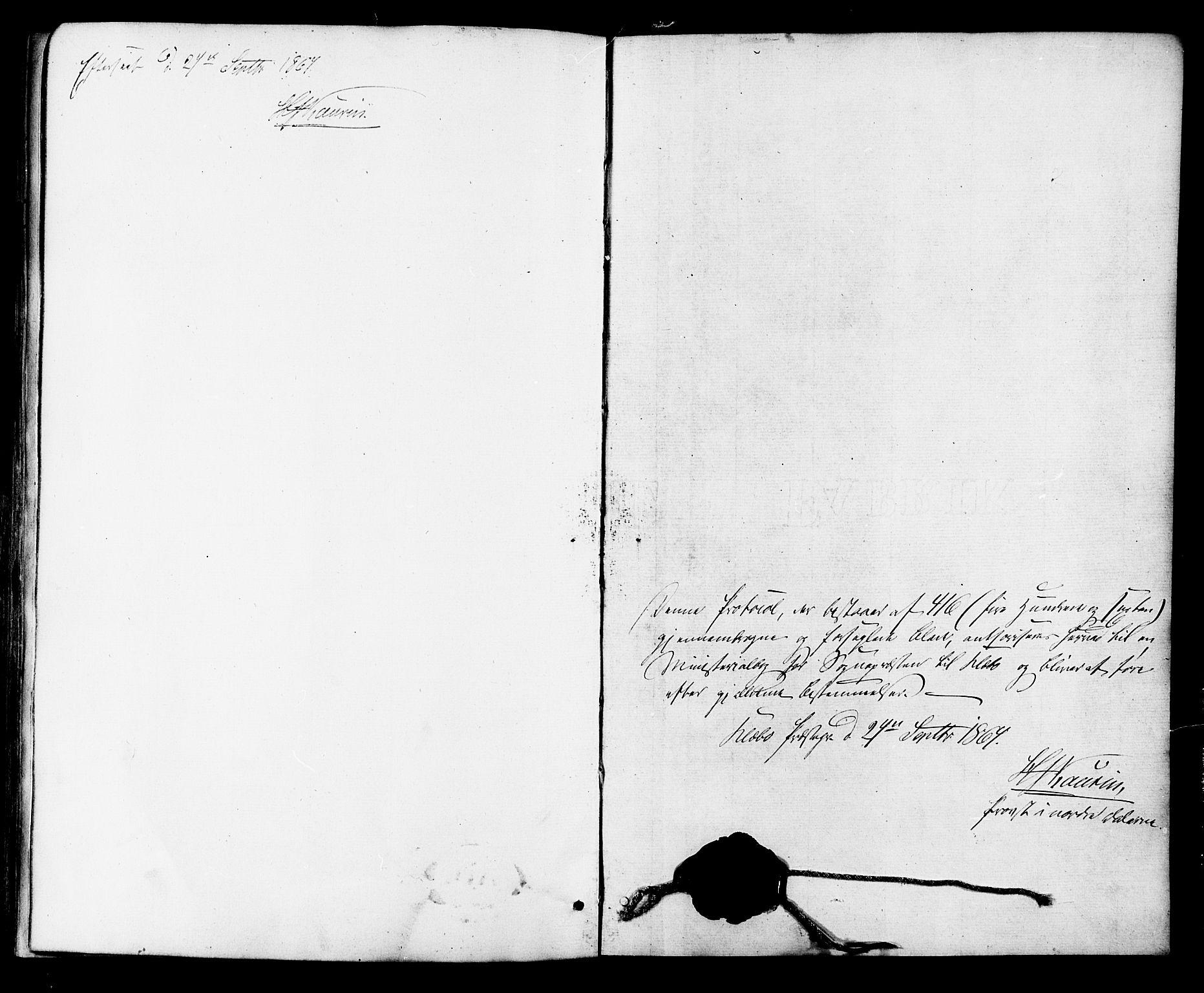 SAT, Ministerialprotokoller, klokkerbøker og fødselsregistre - Sør-Trøndelag, 618/L0443: Ministerialbok nr. 618A06 /2, 1863-1879