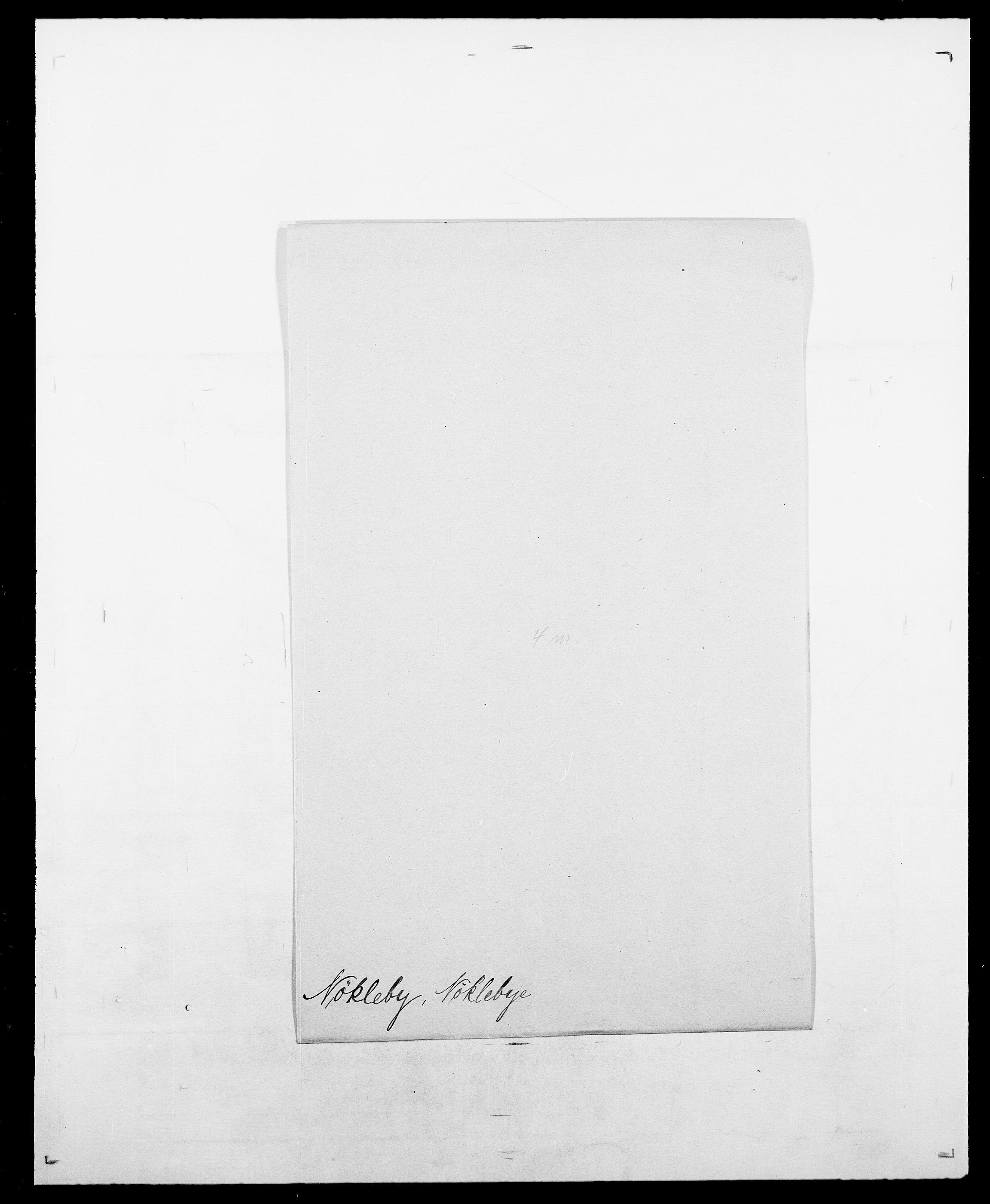 SAO, Delgobe, Charles Antoine - samling, D/Da/L0028: Naaden - Nøvik, s. 626