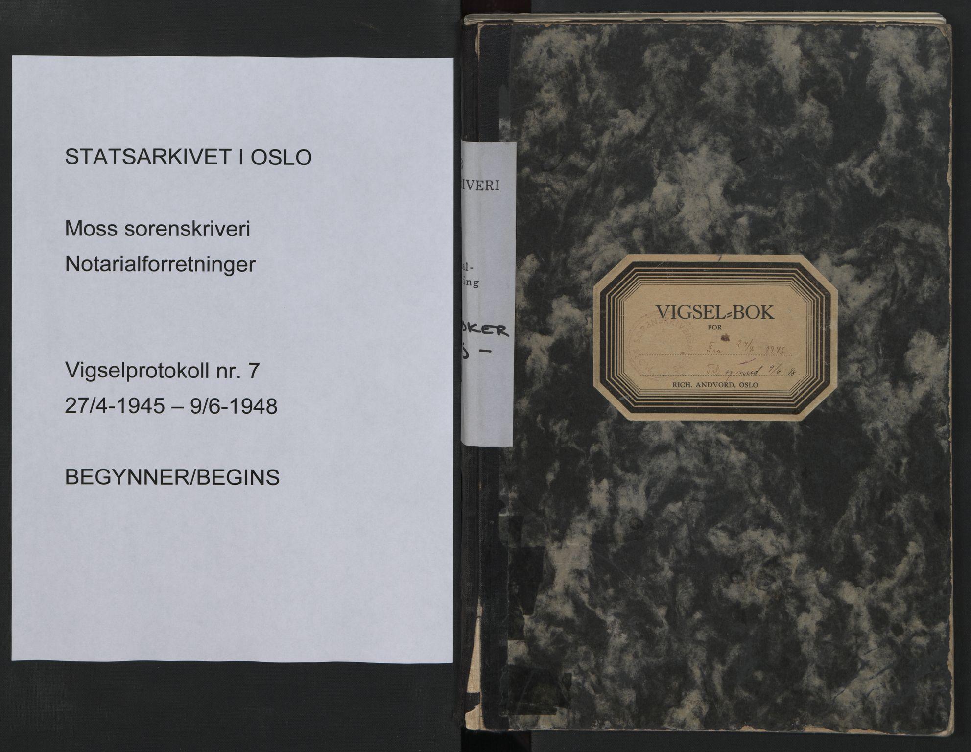 SAO, Moss sorenskriveri, 1945-1948, s. upaginert