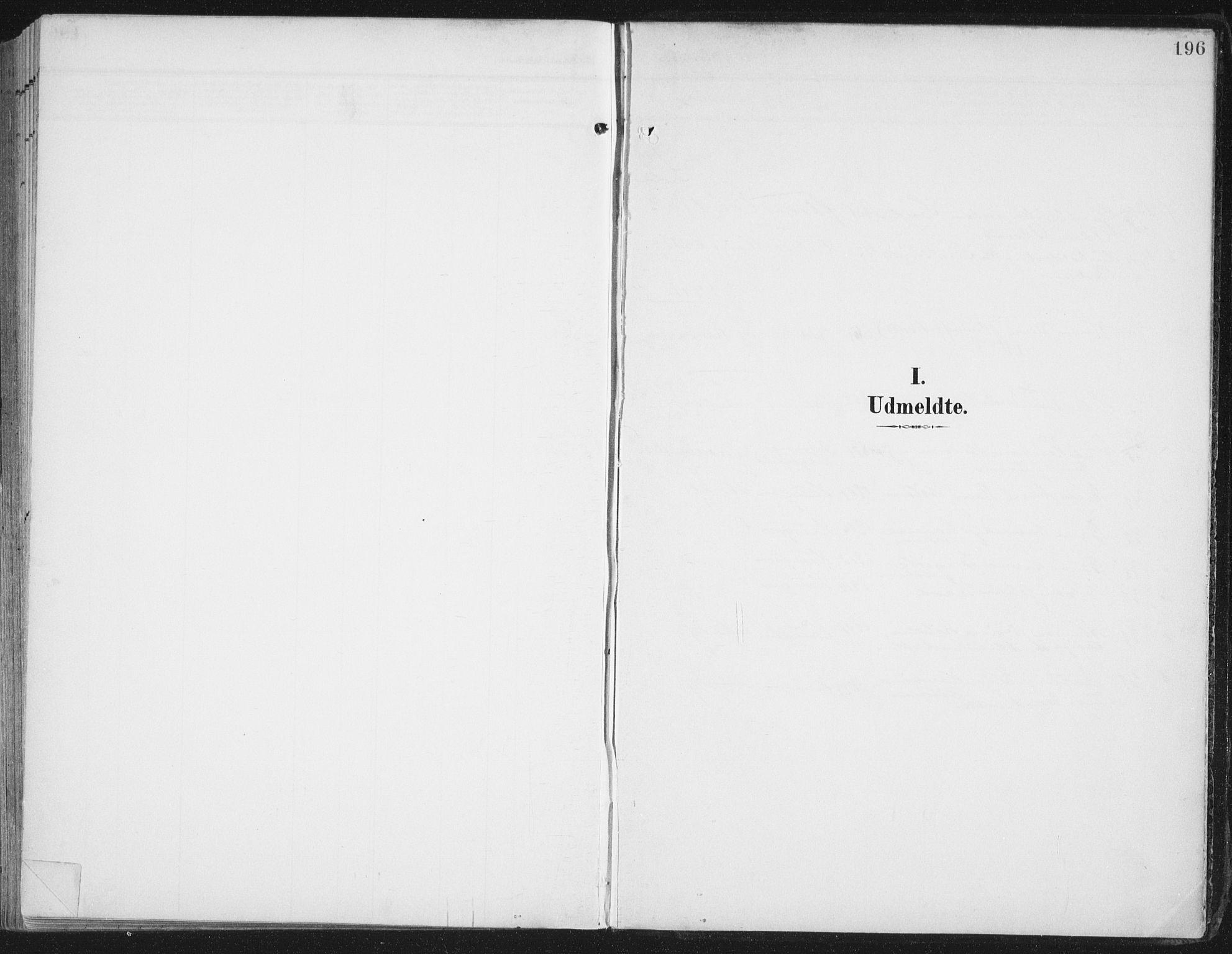 SAT, Ministerialprotokoller, klokkerbøker og fødselsregistre - Nordland, 892/L1321: Ministerialbok nr. 892A02, 1902-1918, s. 196