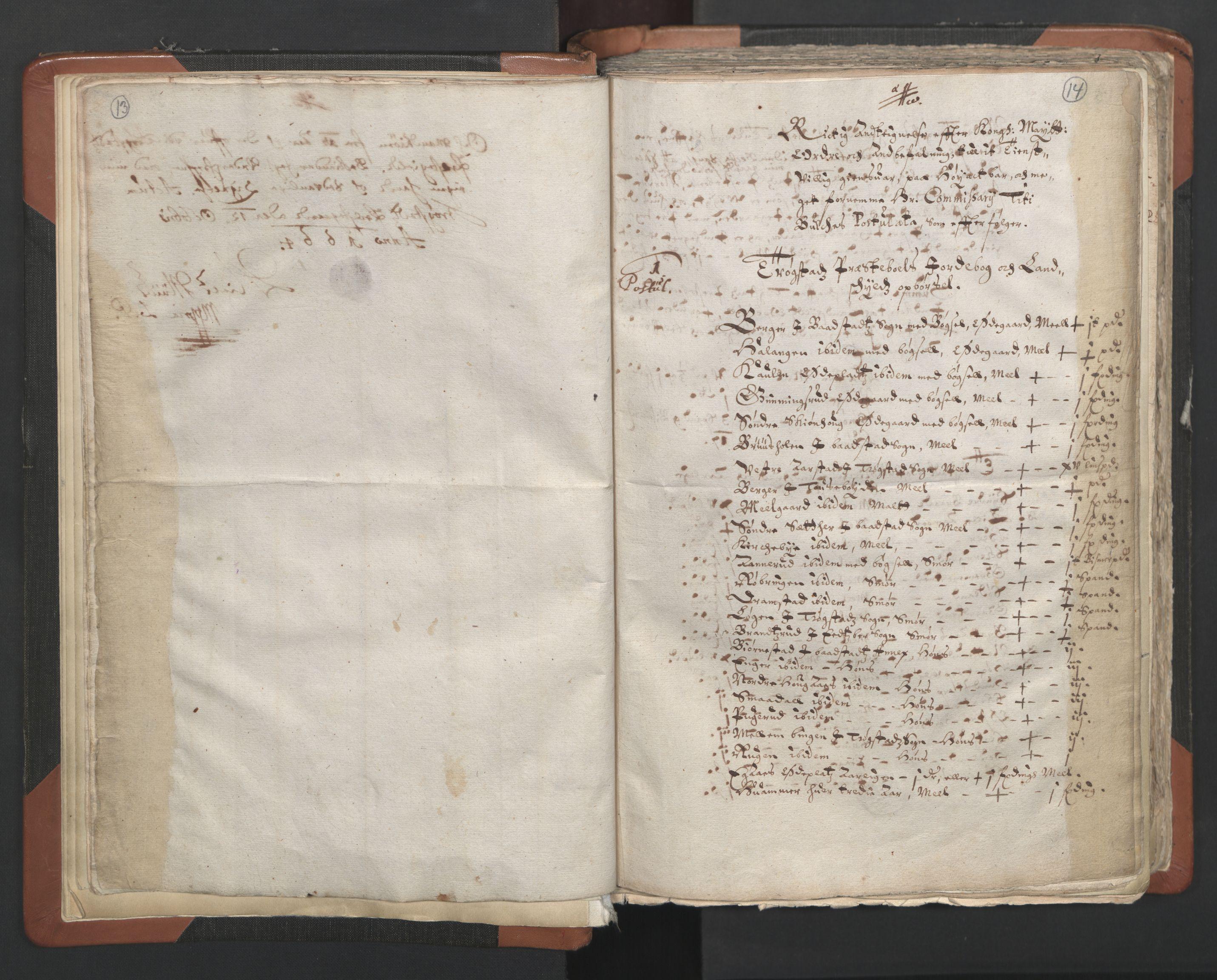 RA, Sogneprestenes manntall 1664-1666, nr. 2: Øvre Borgesyssel prosti, 1664-1666, s. 13-14