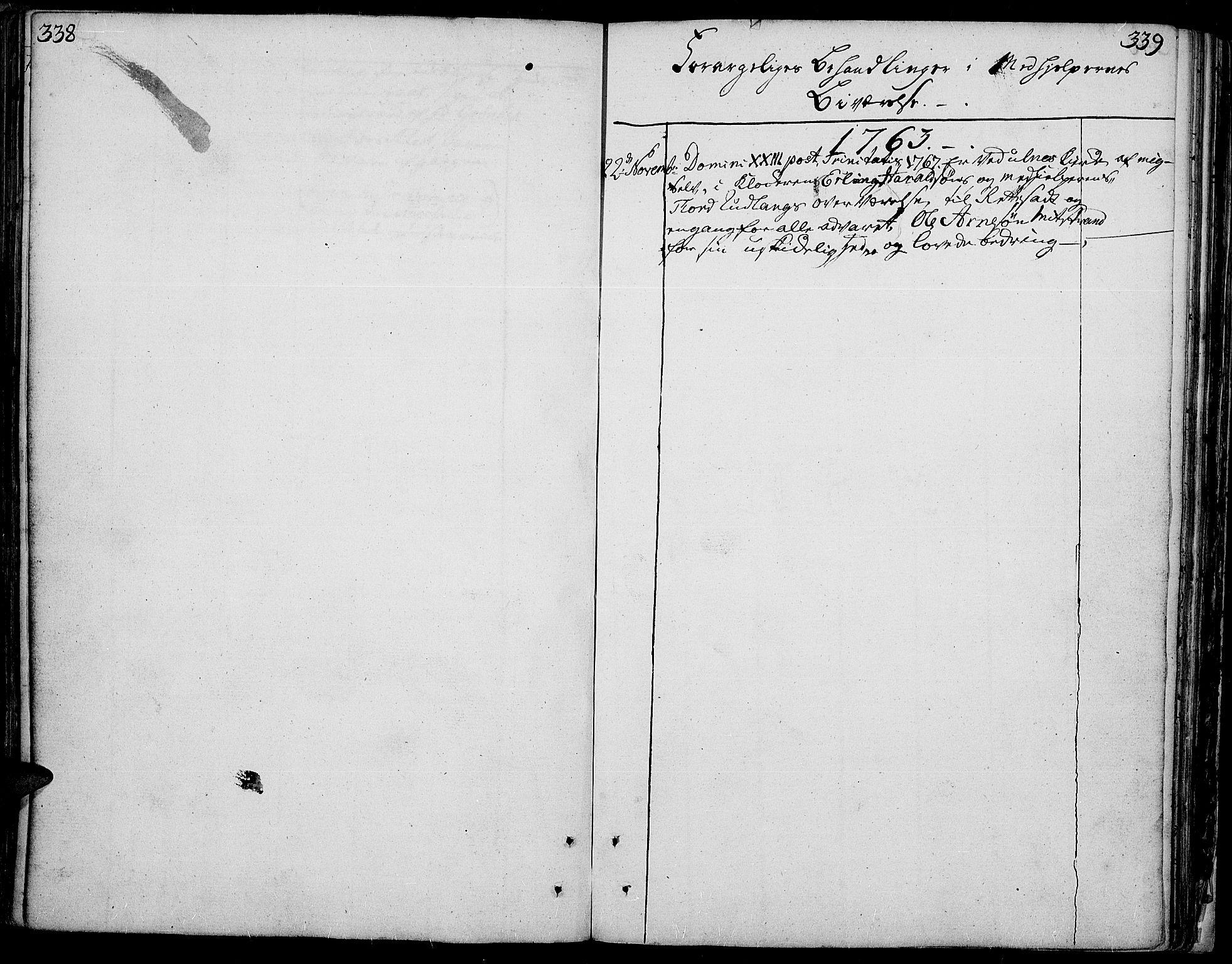 SAH, Aurdal prestekontor, Ministerialbok nr. 5, 1763-1781, s. 338-339