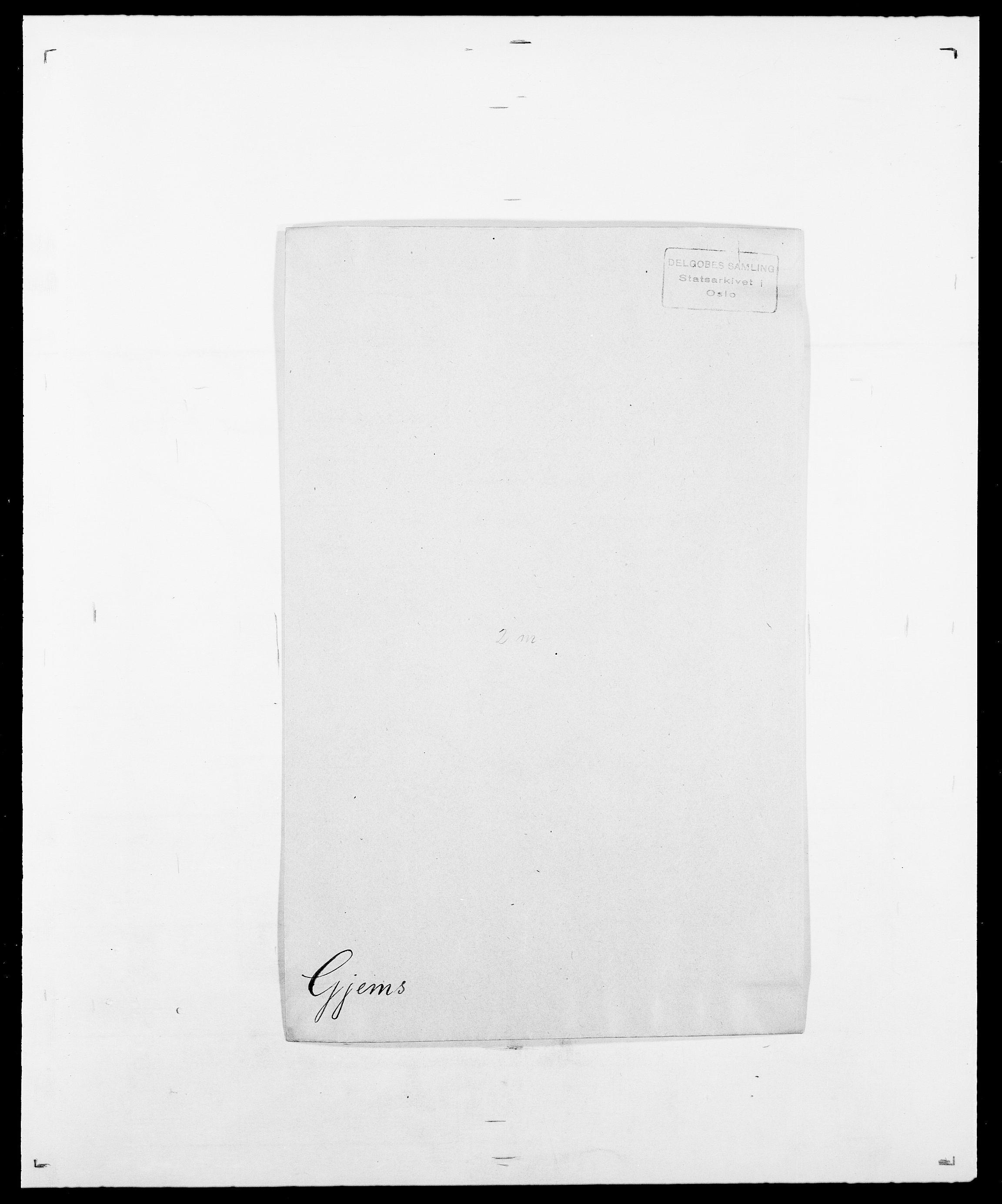 SAO, Delgobe, Charles Antoine - samling, D/Da/L0014: Giebdhausen - Grip, s. 97