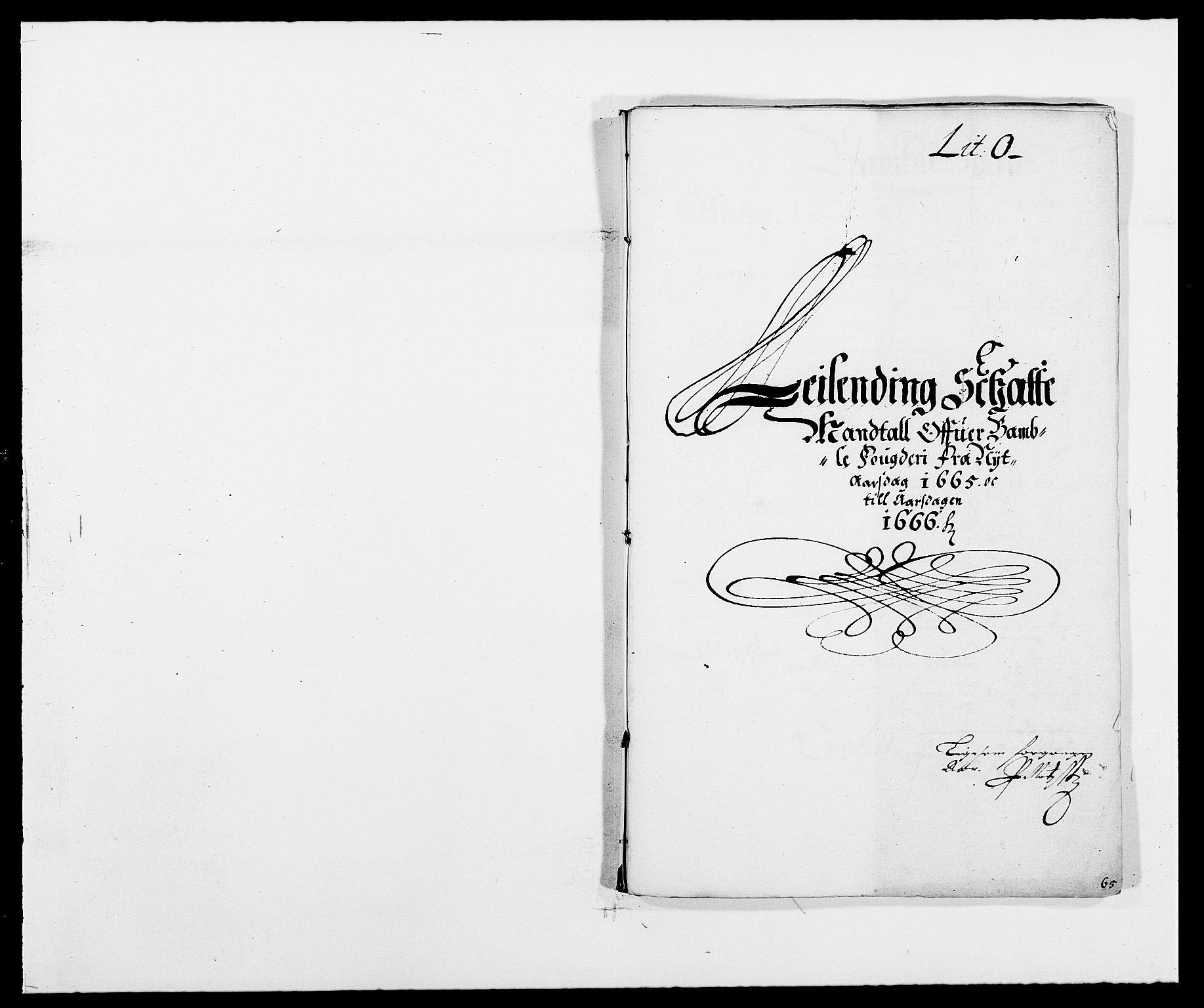 RA, Rentekammeret inntil 1814, Reviderte regnskaper, Fogderegnskap, R34/L2038: Fogderegnskap Bamble, 1662-1669, s. 182