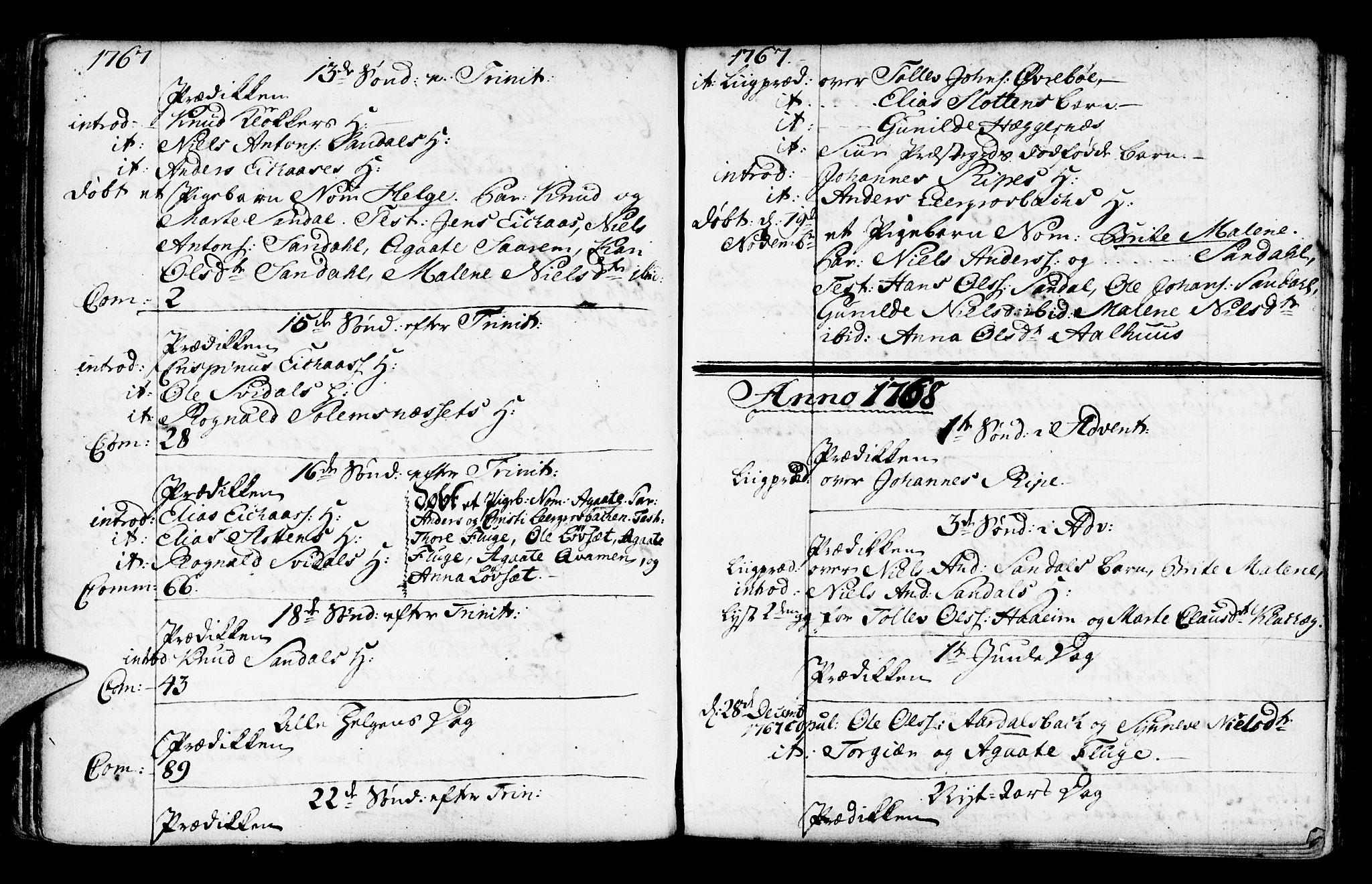 SAB, Jølster Sokneprestembete, Ministerialbok nr. A 3, 1748-1789, s. 118