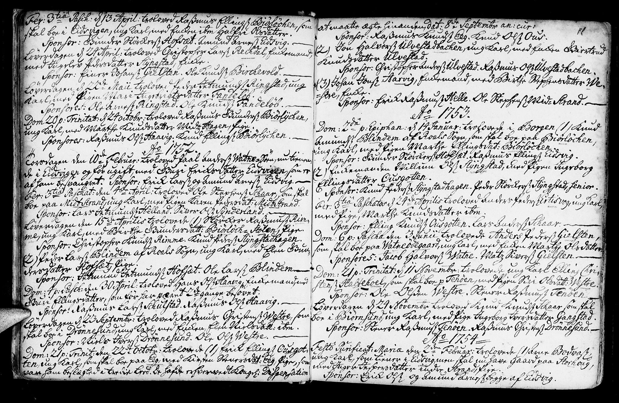 SAT, Ministerialprotokoller, klokkerbøker og fødselsregistre - Møre og Romsdal, 525/L0371: Ministerialbok nr. 525A01, 1699-1777, s. 18
