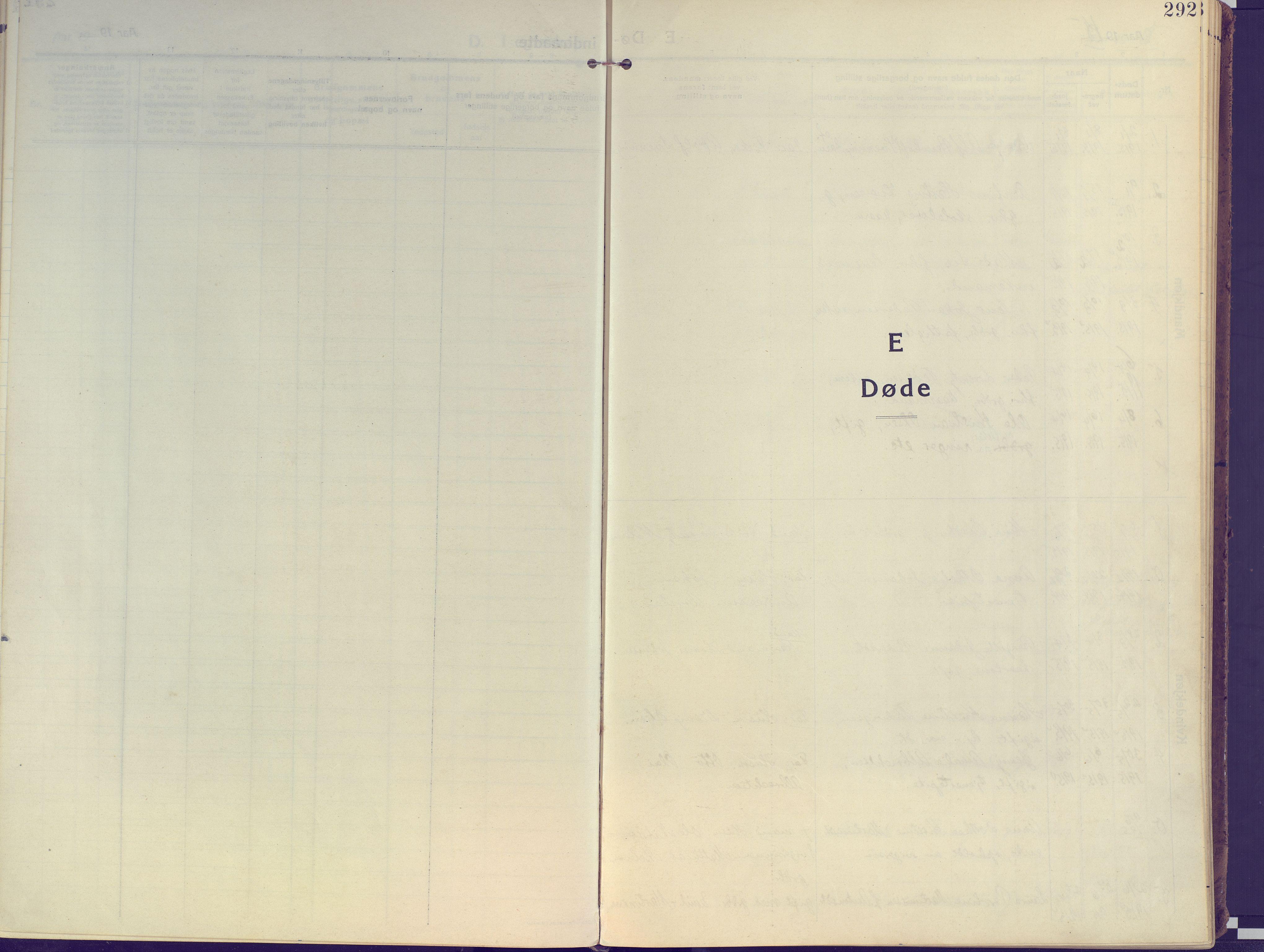 SATØ, Kvæfjord sokneprestkontor, G/Ga/Gaa/L0007kirke: Ministerialbok nr. 7, 1915-1931, s. 292