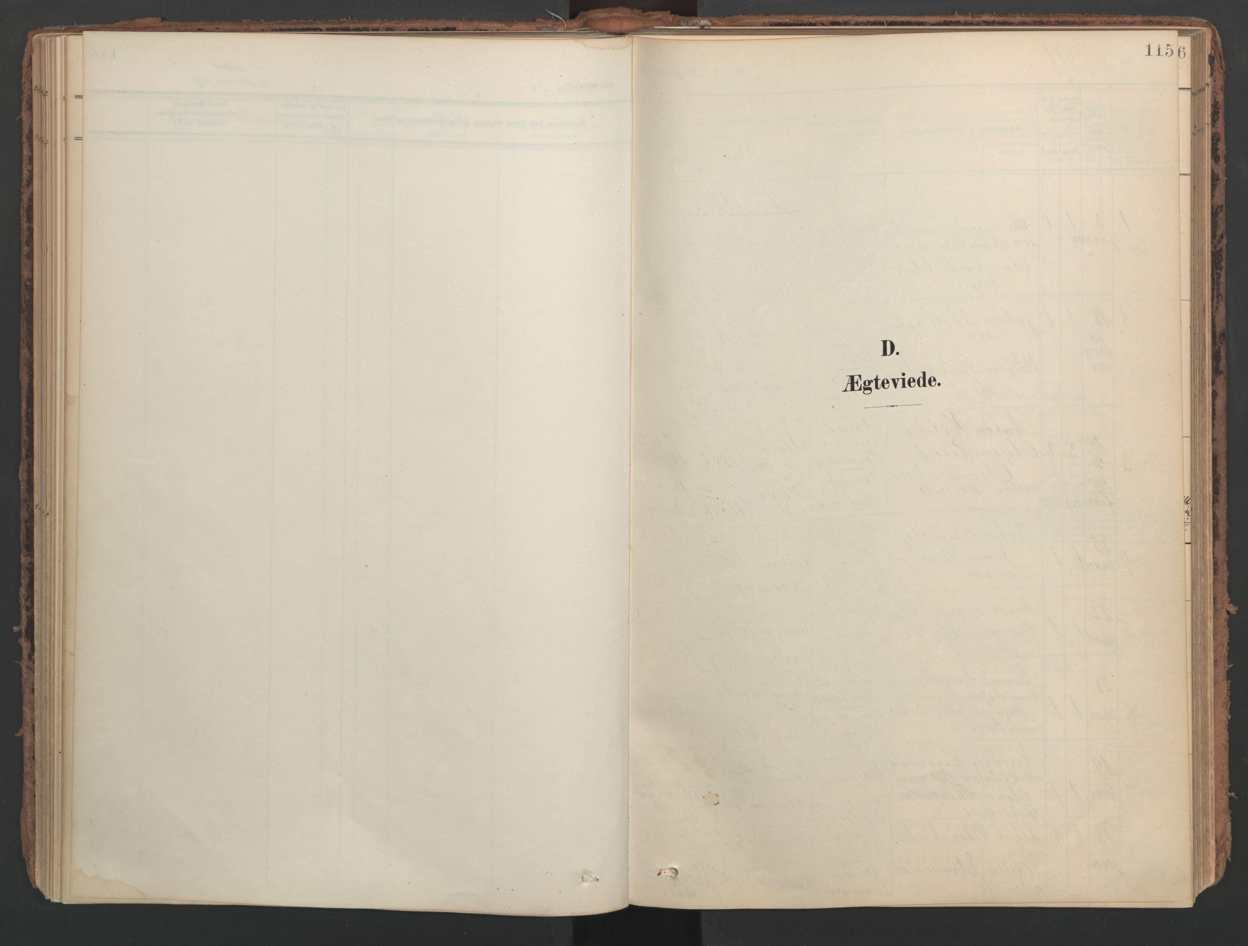 SAT, Ministerialprotokoller, klokkerbøker og fødselsregistre - Nord-Trøndelag, 741/L0397: Ministerialbok nr. 741A11, 1901-1911, s. 115