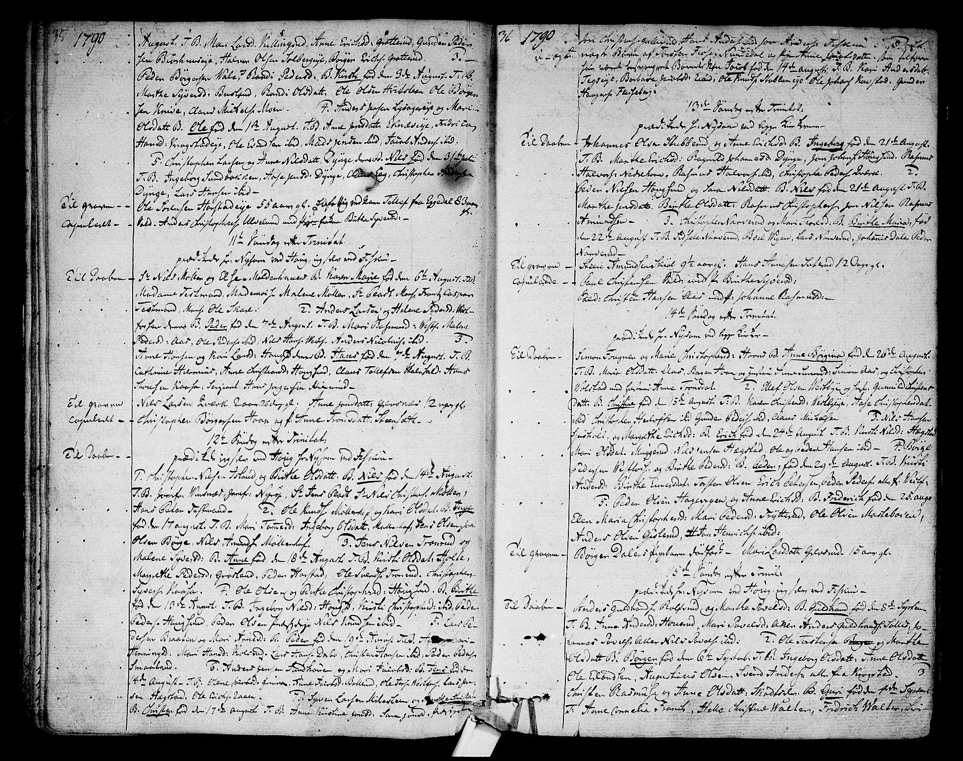 SAKO, Eiker kirkebøker, F/Fa/L0009: Ministerialbok nr. I 9, 1789-1806, s. 35-36