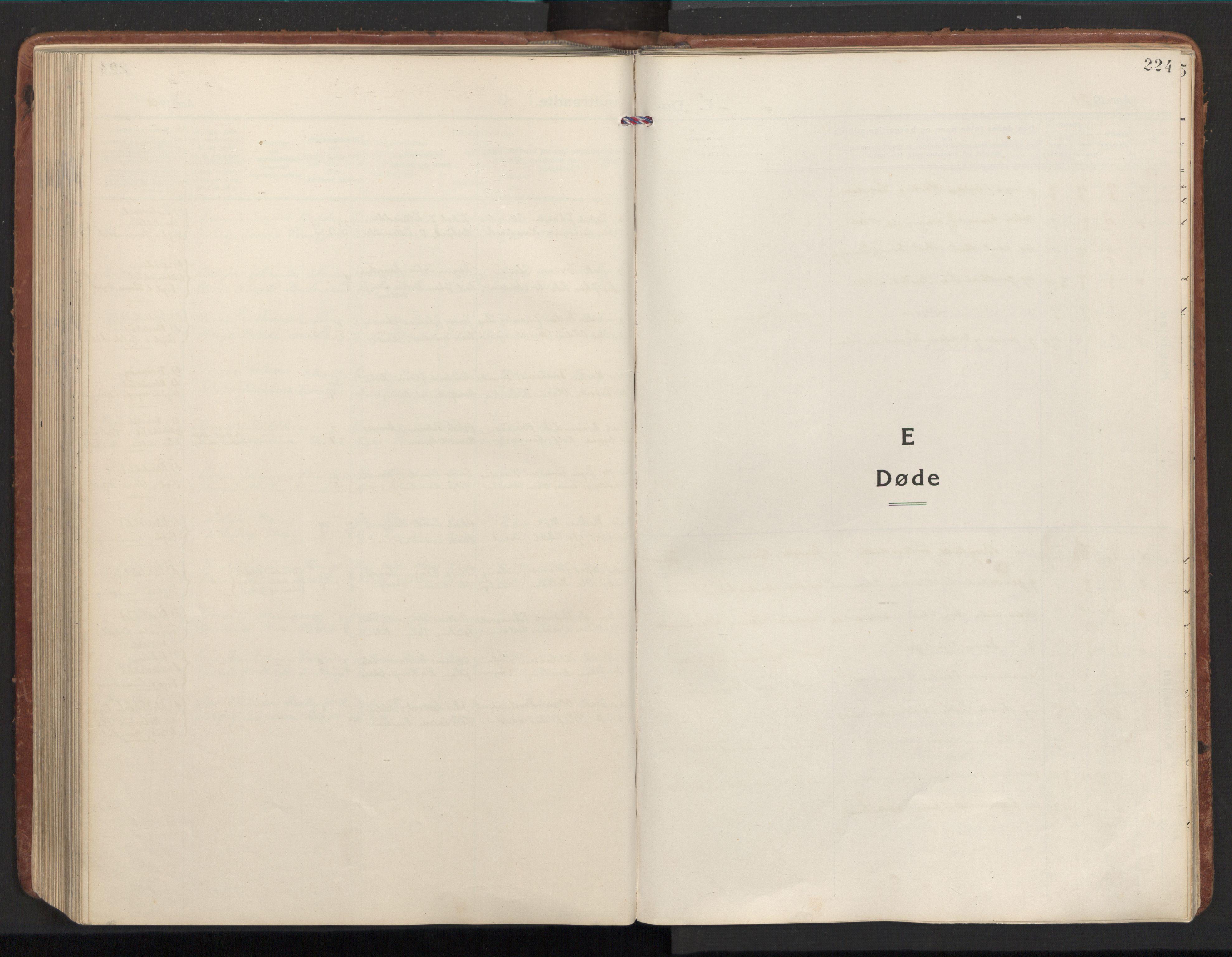 SAT, Ministerialprotokoller, klokkerbøker og fødselsregistre - Nord-Trøndelag, 784/L0678: Ministerialbok nr. 784A13, 1921-1938, s. 224