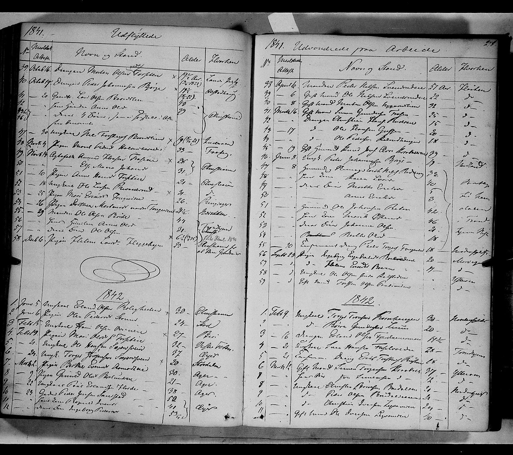 SAH, Gausdal prestekontor, Ministerialbok nr. 7, 1840-1850, s. 278