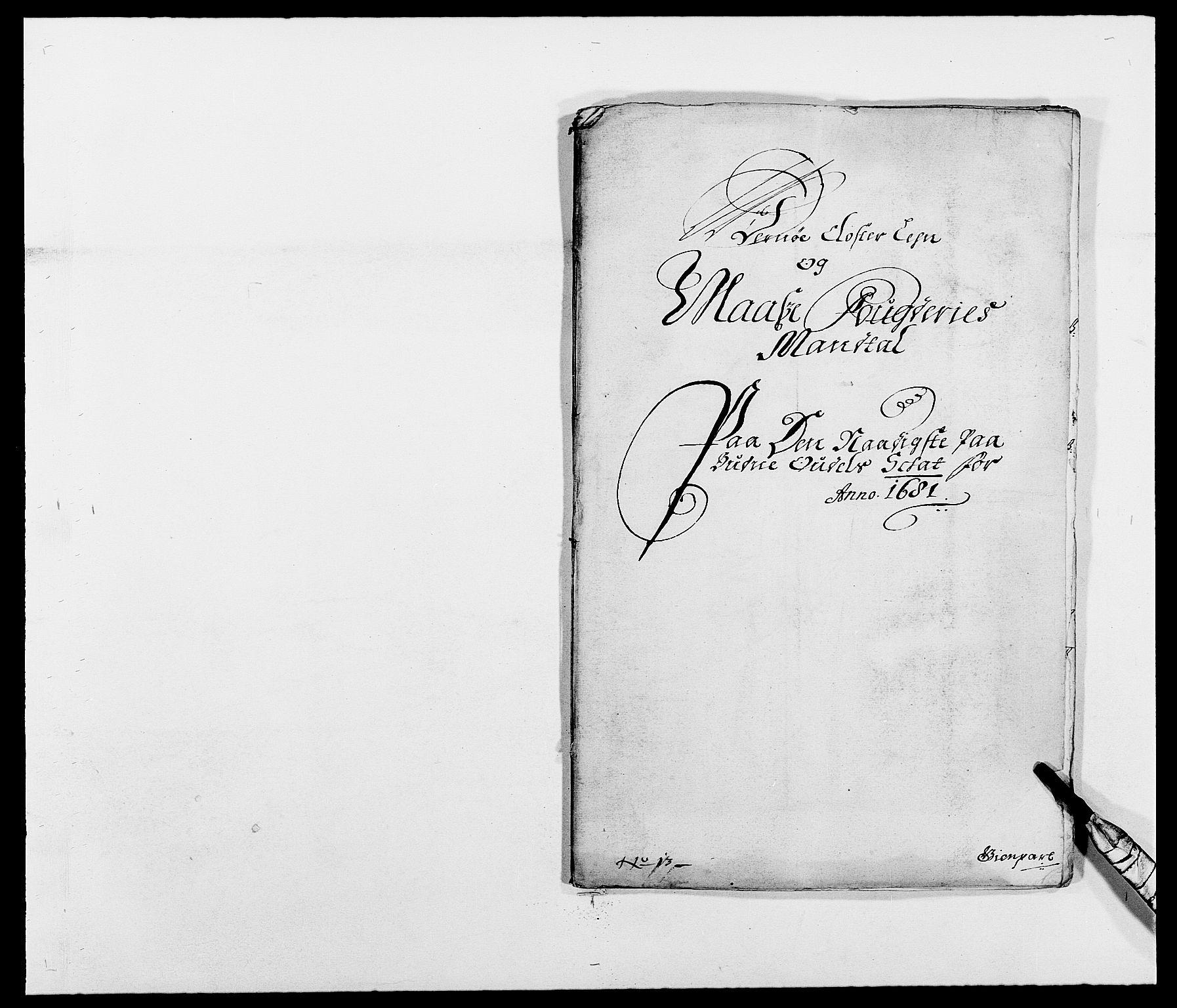 RA, Rentekammeret inntil 1814, Reviderte regnskaper, Fogderegnskap, R02/L0102: Fogderegnskap Moss og Verne kloster, 1675-1681, s. 274