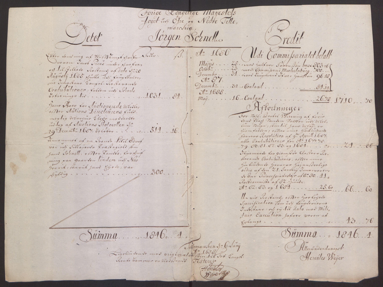 RA, Rentekammeret inntil 1814, Reviderte regnskaper, Fogderegnskap, R35/L2075: Fogderegnskap Øvre og Nedre Telemark, 1680-1684, s. 23