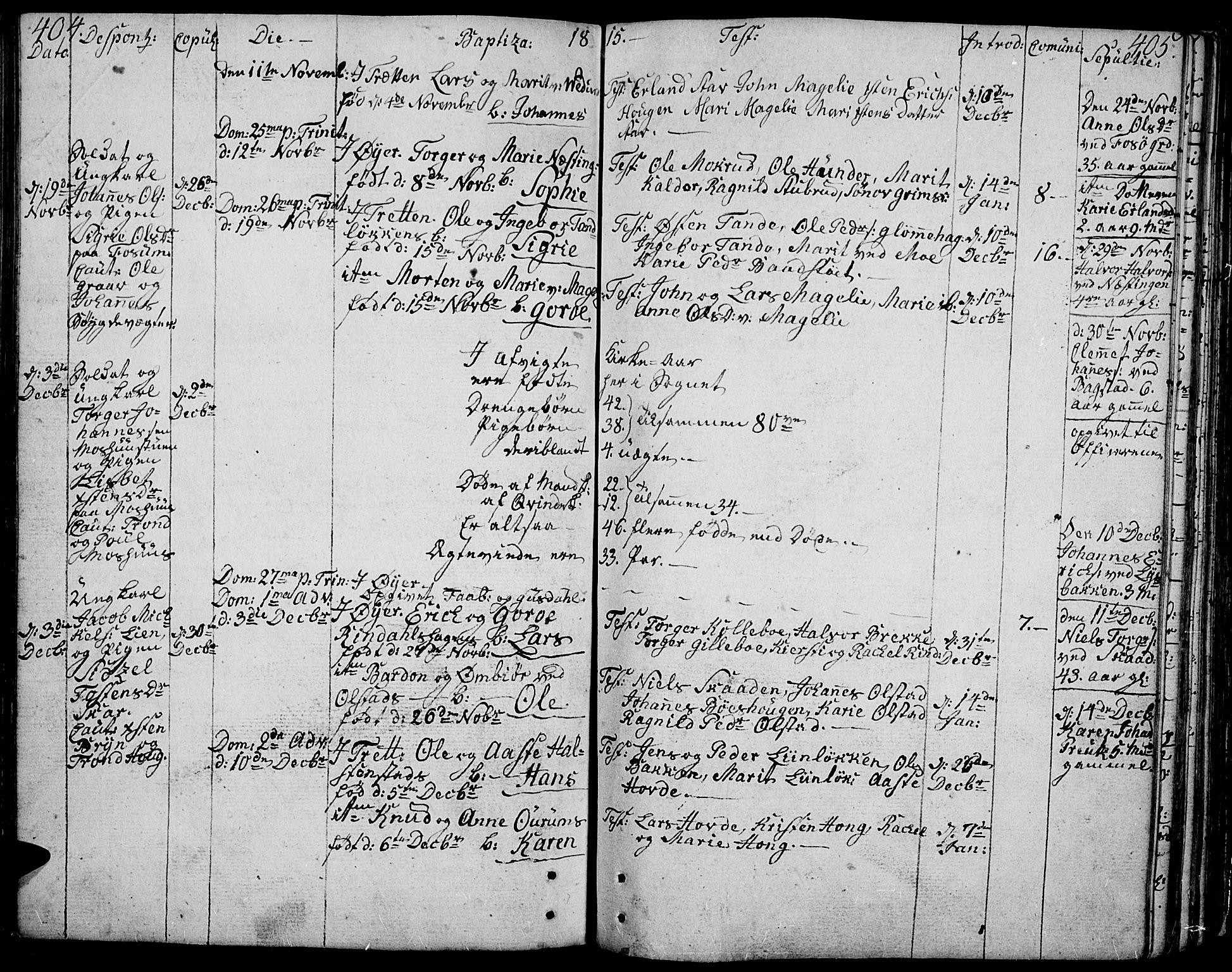 SAH, Øyer prestekontor, Ministerialbok nr. 3, 1784-1824, s. 404-405